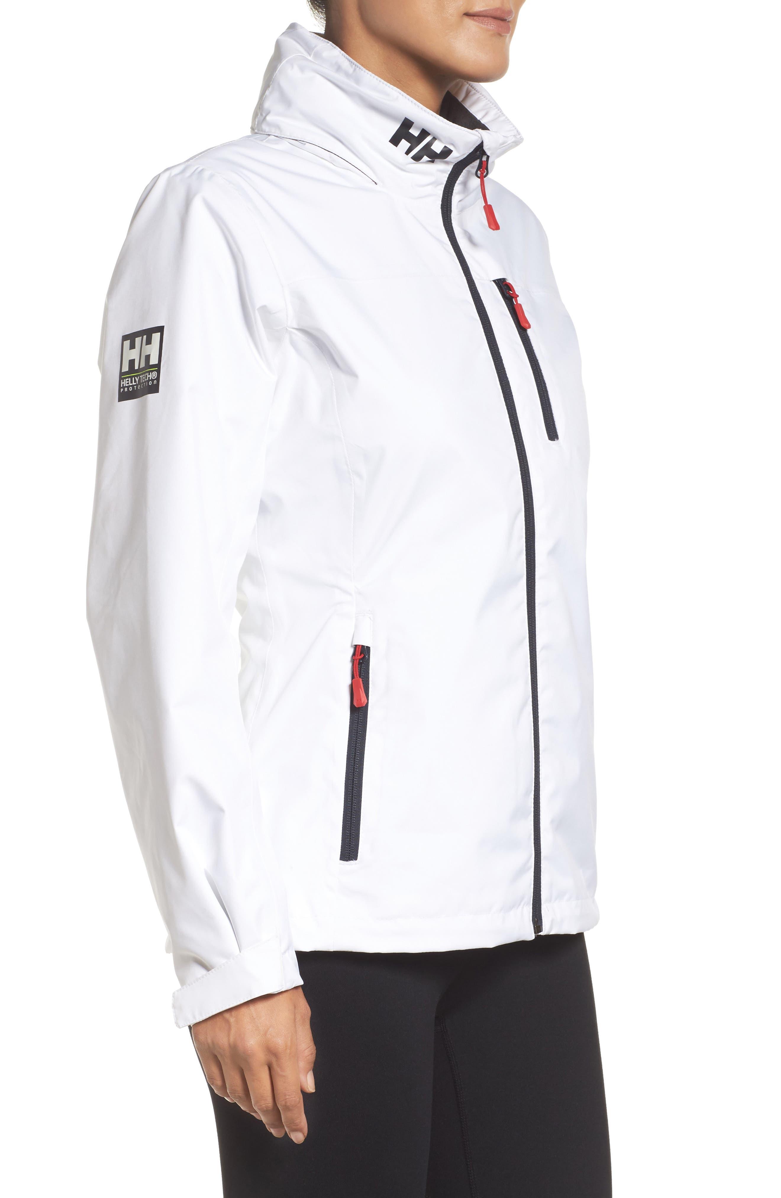 Crew Waterproof Jacket,                             Alternate thumbnail 3, color,                             100