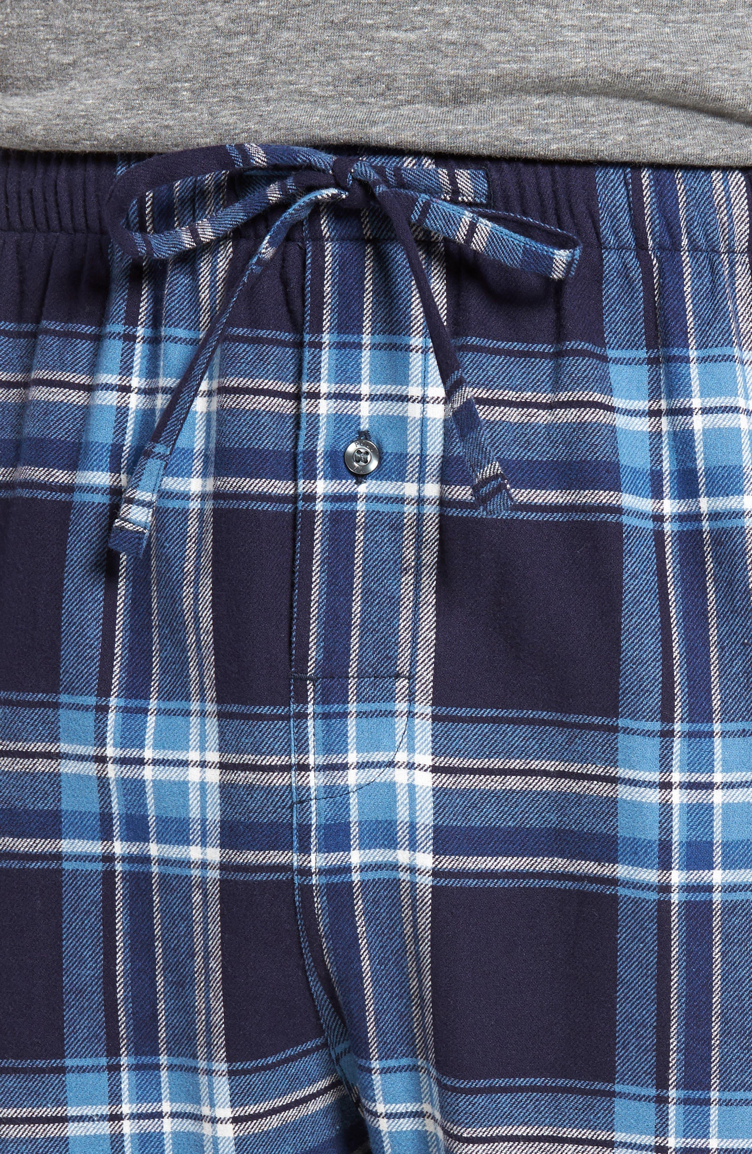 Flannel Pajama Pants,                             Alternate thumbnail 50, color,