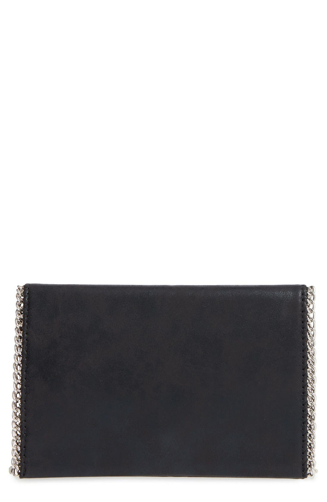 Faux Leather Crossbody Clutch,                             Main thumbnail 3, color,