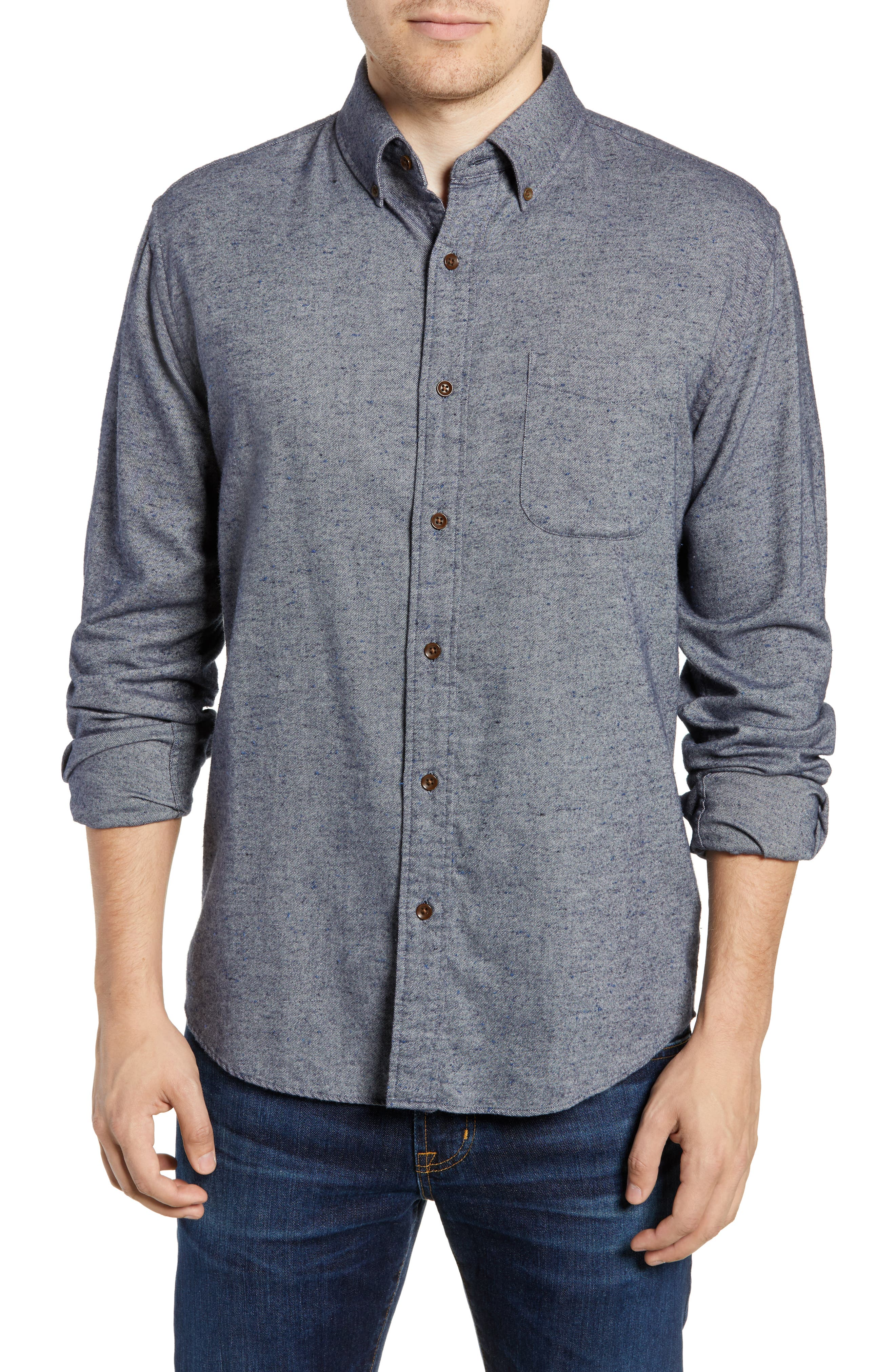 Pacific Regular Fit Sport Shirt,                         Main,                         color, NAVY