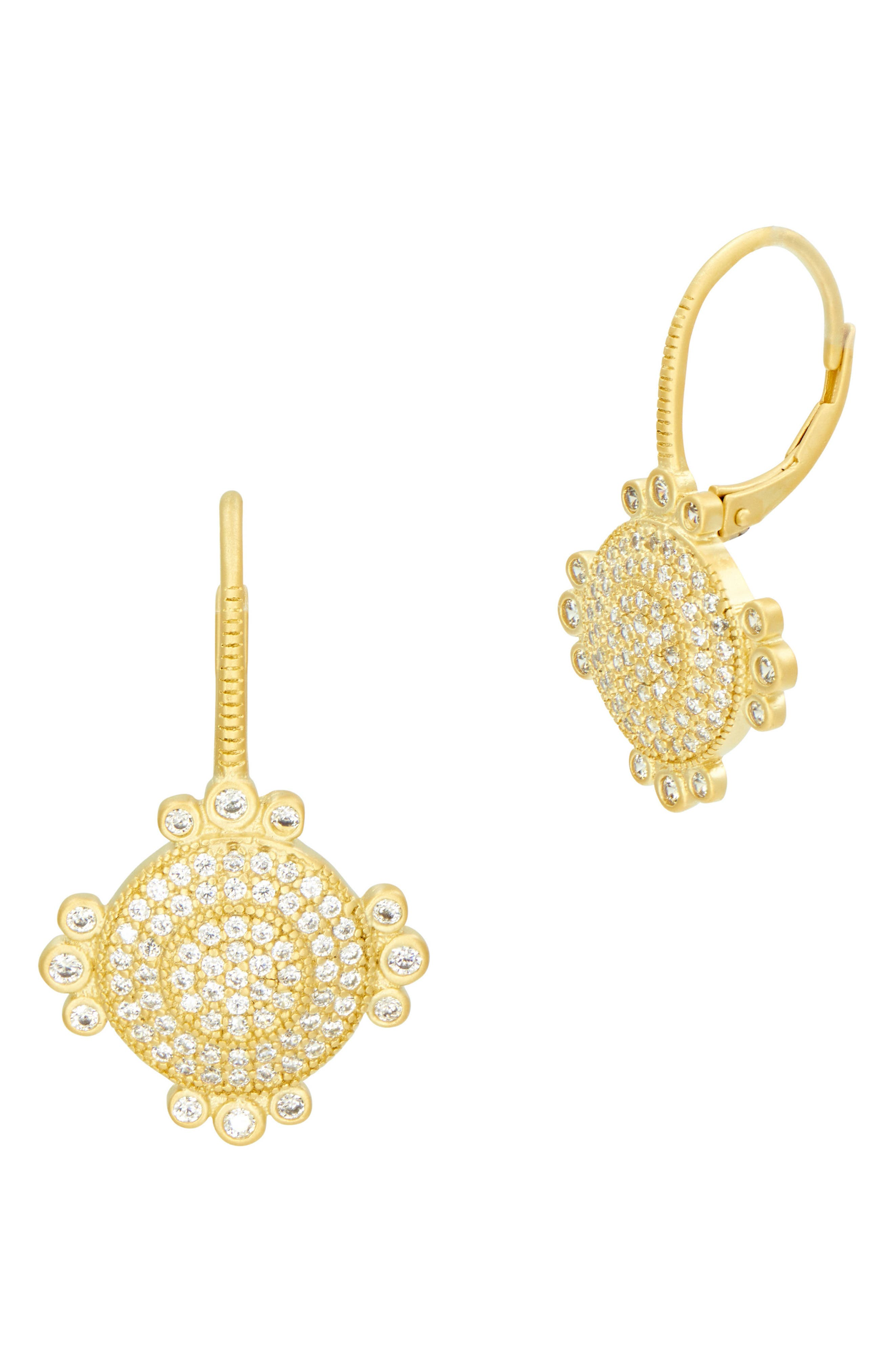 Amazonian Allure Pavé Drop Earrings,                         Main,                         color,