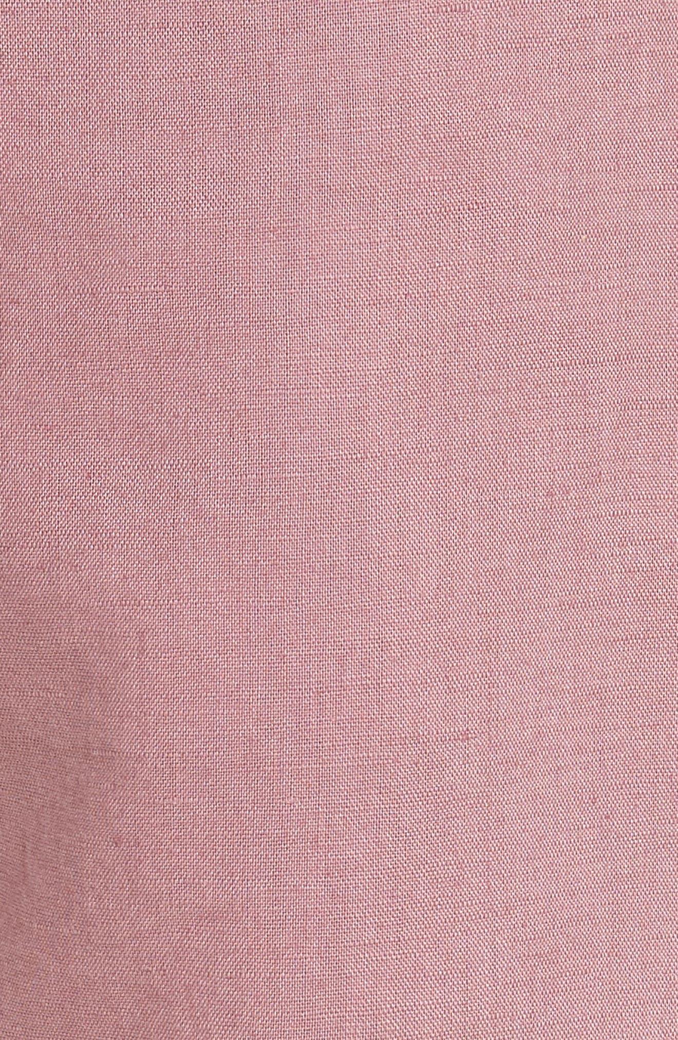 Omni Linen Blend Shorts,                             Alternate thumbnail 14, color,