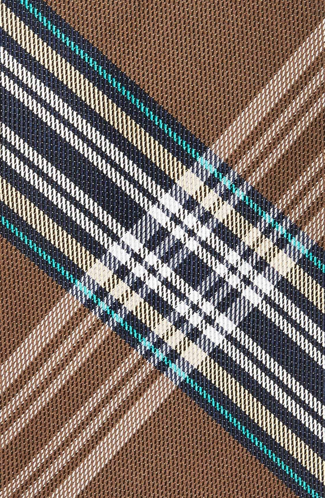 'Delores' Plaid Silk & Cotton Tie,                             Alternate thumbnail 2, color,                             200