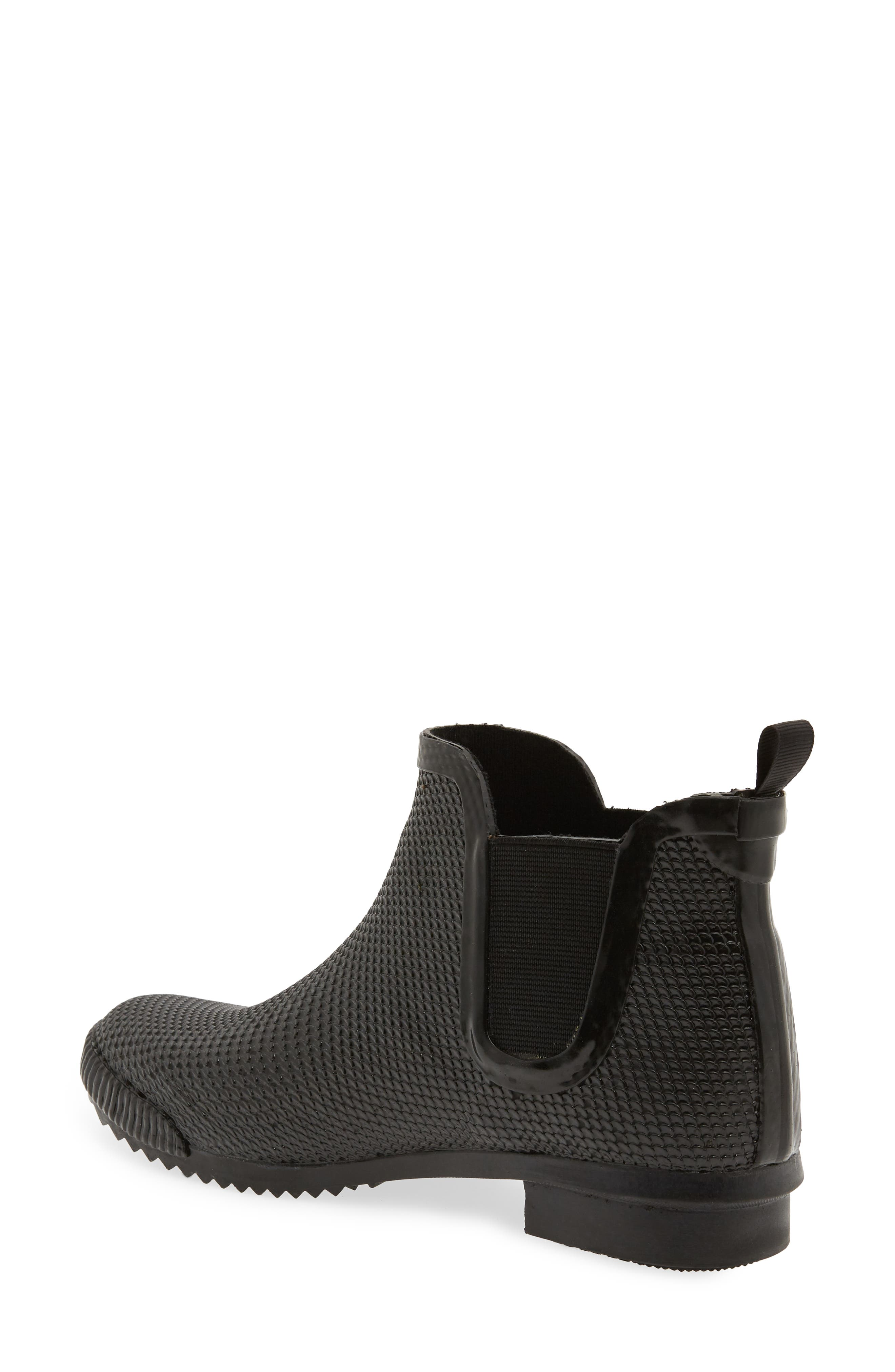 Regent Chelsea Rain Boot,                             Alternate thumbnail 2, color,                             BLACK SNAKE PRINT