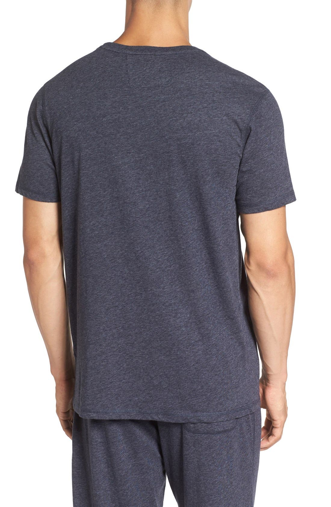 Recycled Cotton Blend T-Shirt,                             Alternate thumbnail 8, color,