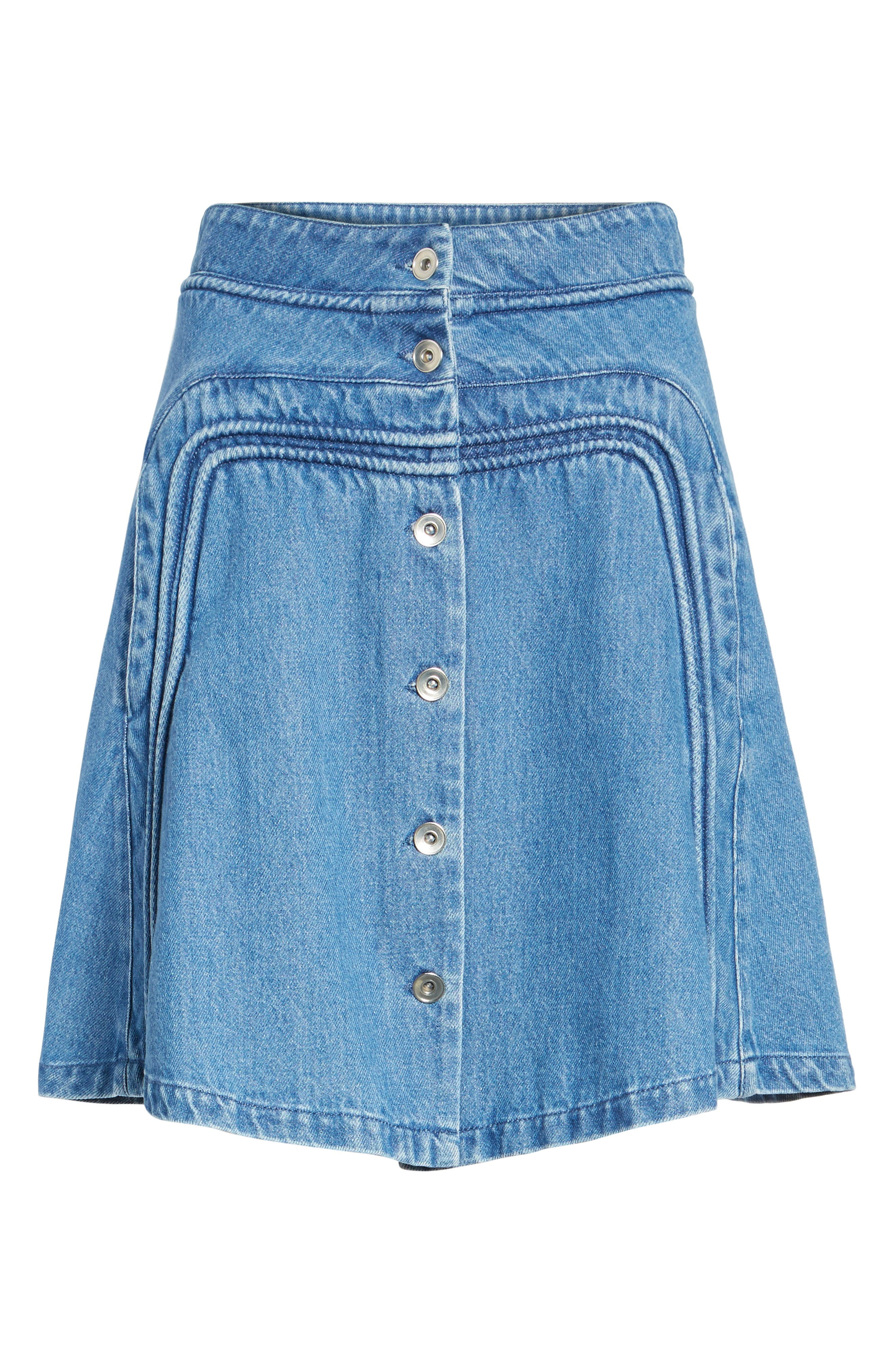 A-Line Skirt,                             Alternate thumbnail 6, color,                             401
