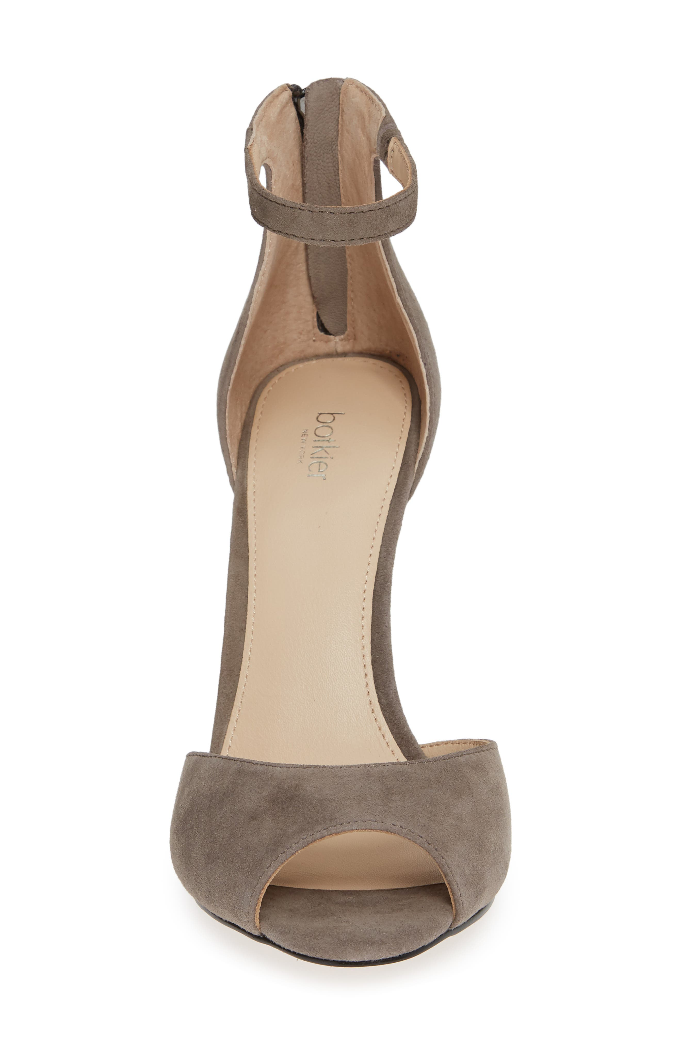 Anna Sandal,                             Alternate thumbnail 4, color,                             WINTER GREY SUEDE
