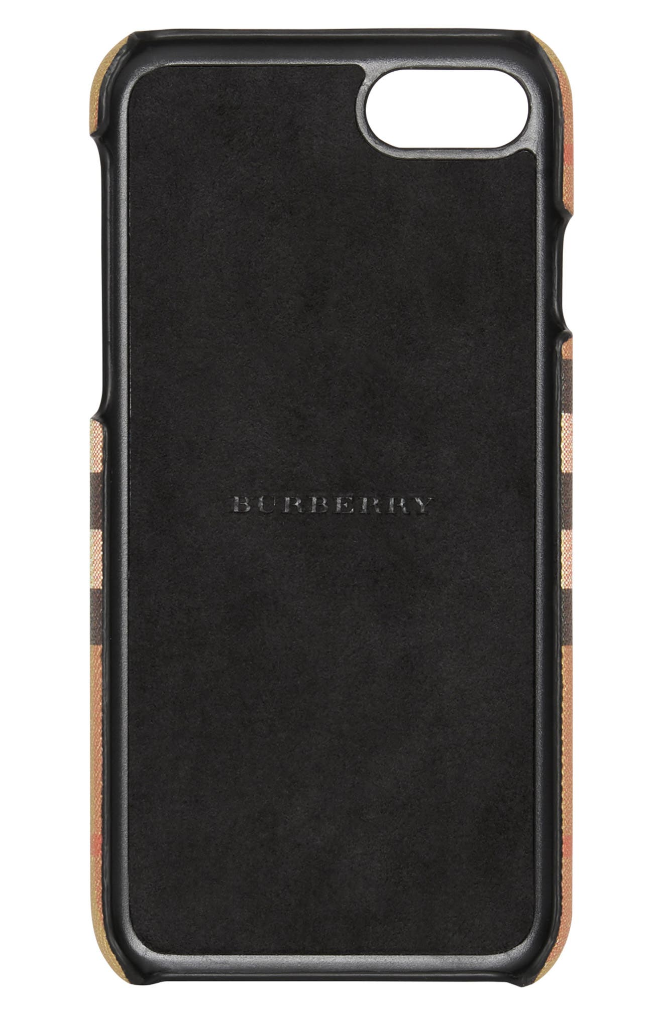 Vintage Check iPhone 8 Case,                             Alternate thumbnail 2, color,                             001