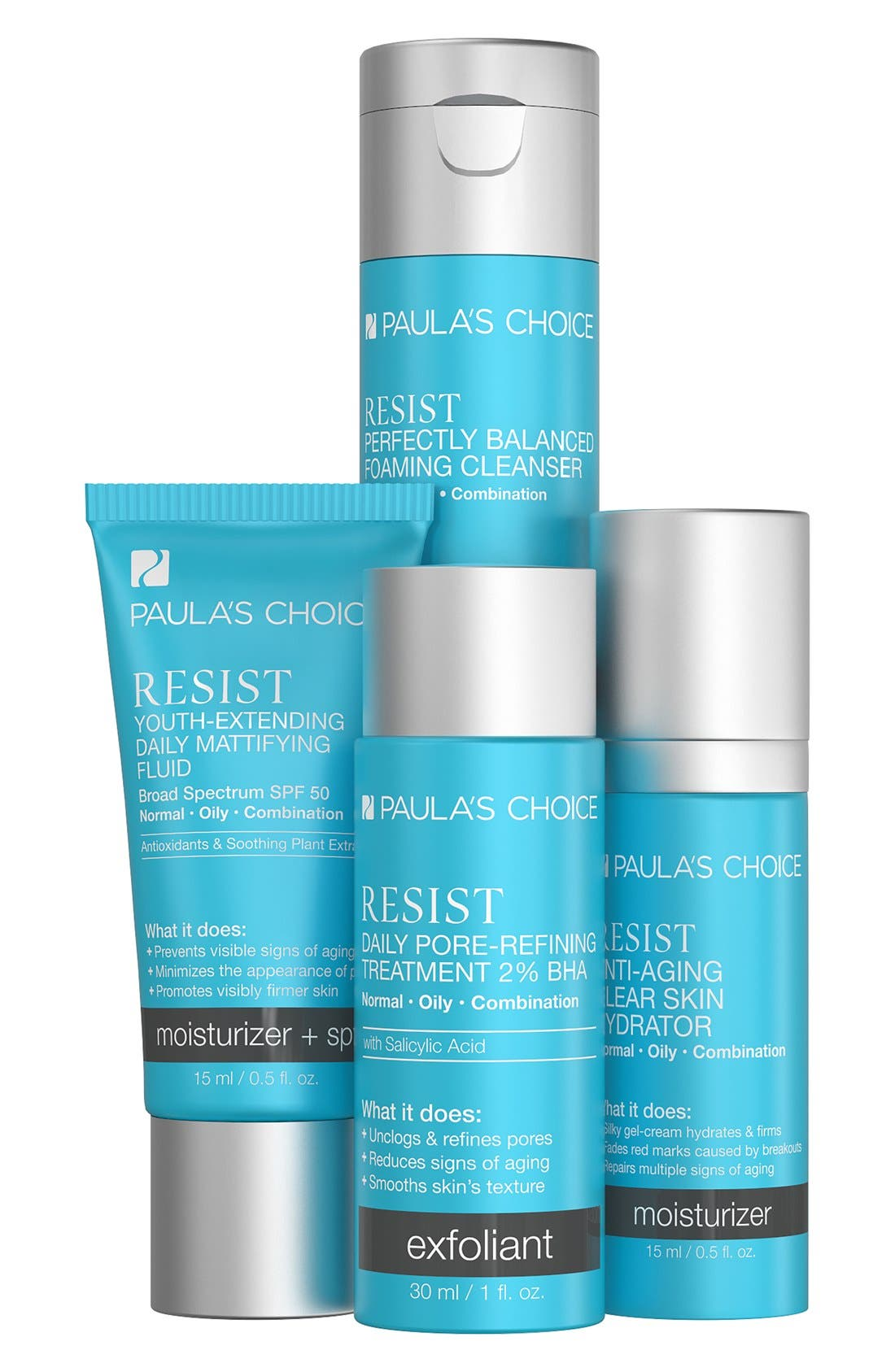 Resist Trial Kit for Wrinkles & Breakouts,                             Main thumbnail 1, color,                             000