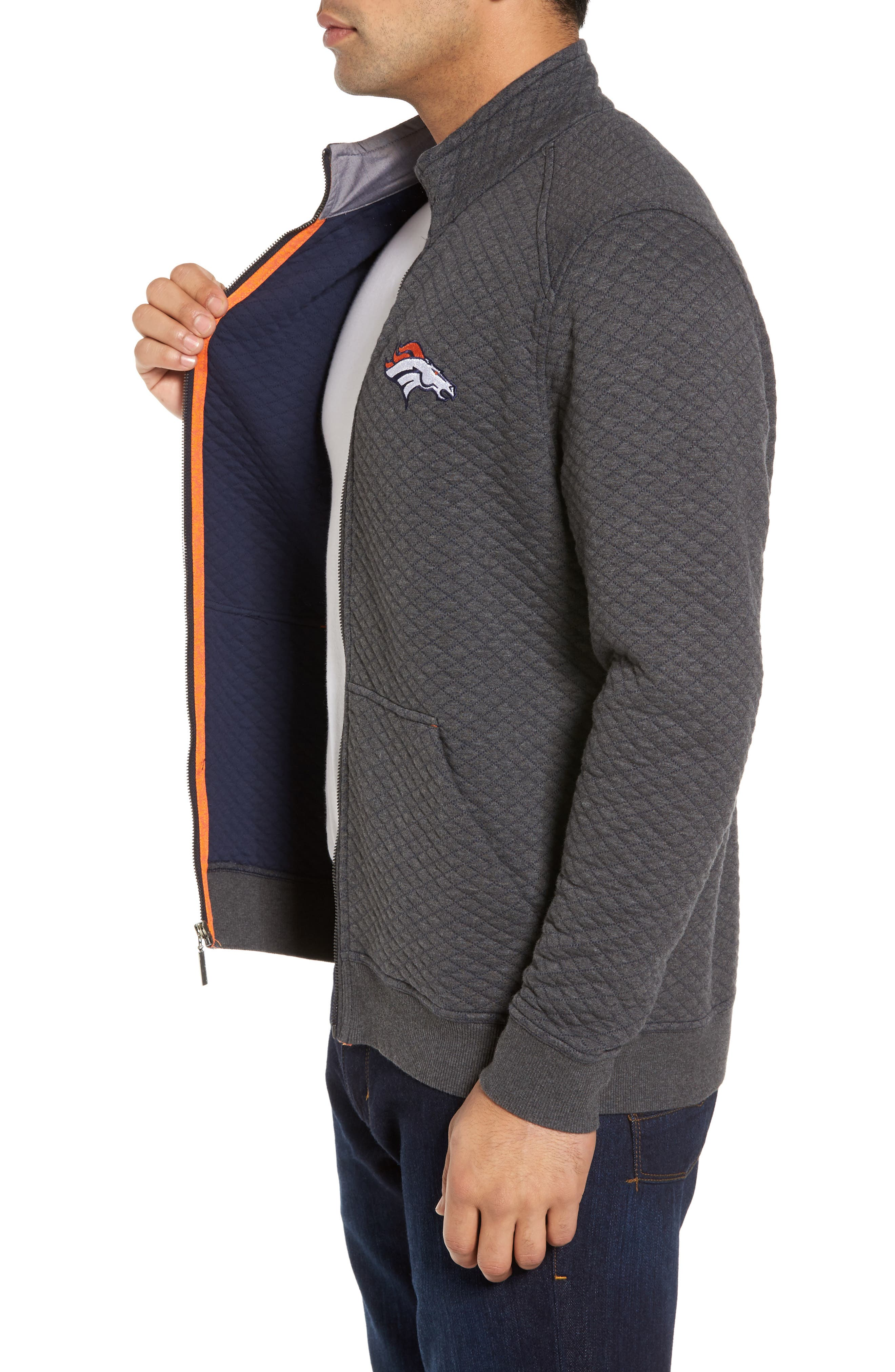 NFL Quiltessential Full Zip Sweatshirt,                             Alternate thumbnail 68, color,