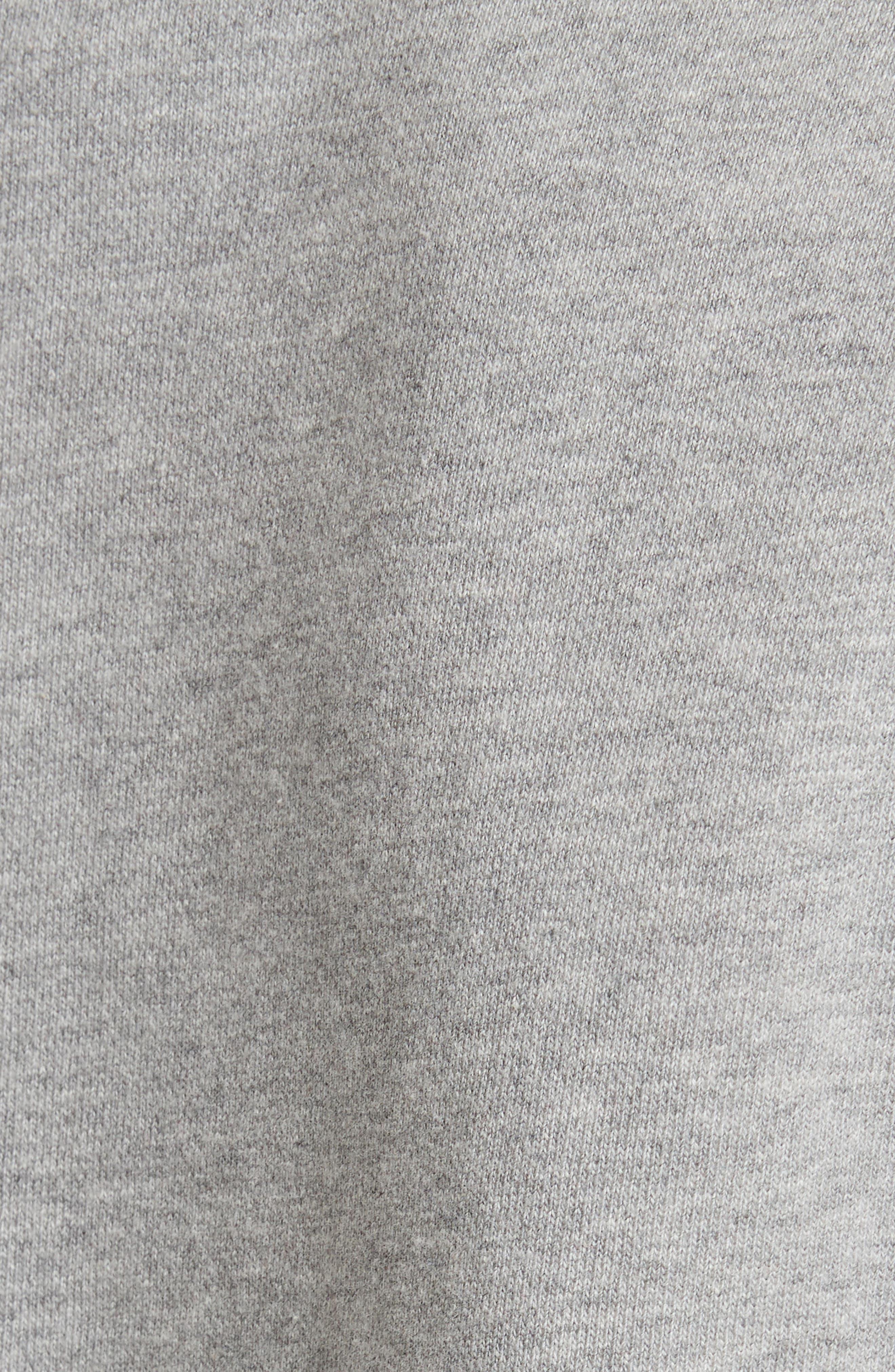 Pierced Sleeve Sweatshirt,                             Alternate thumbnail 5, color,                             031