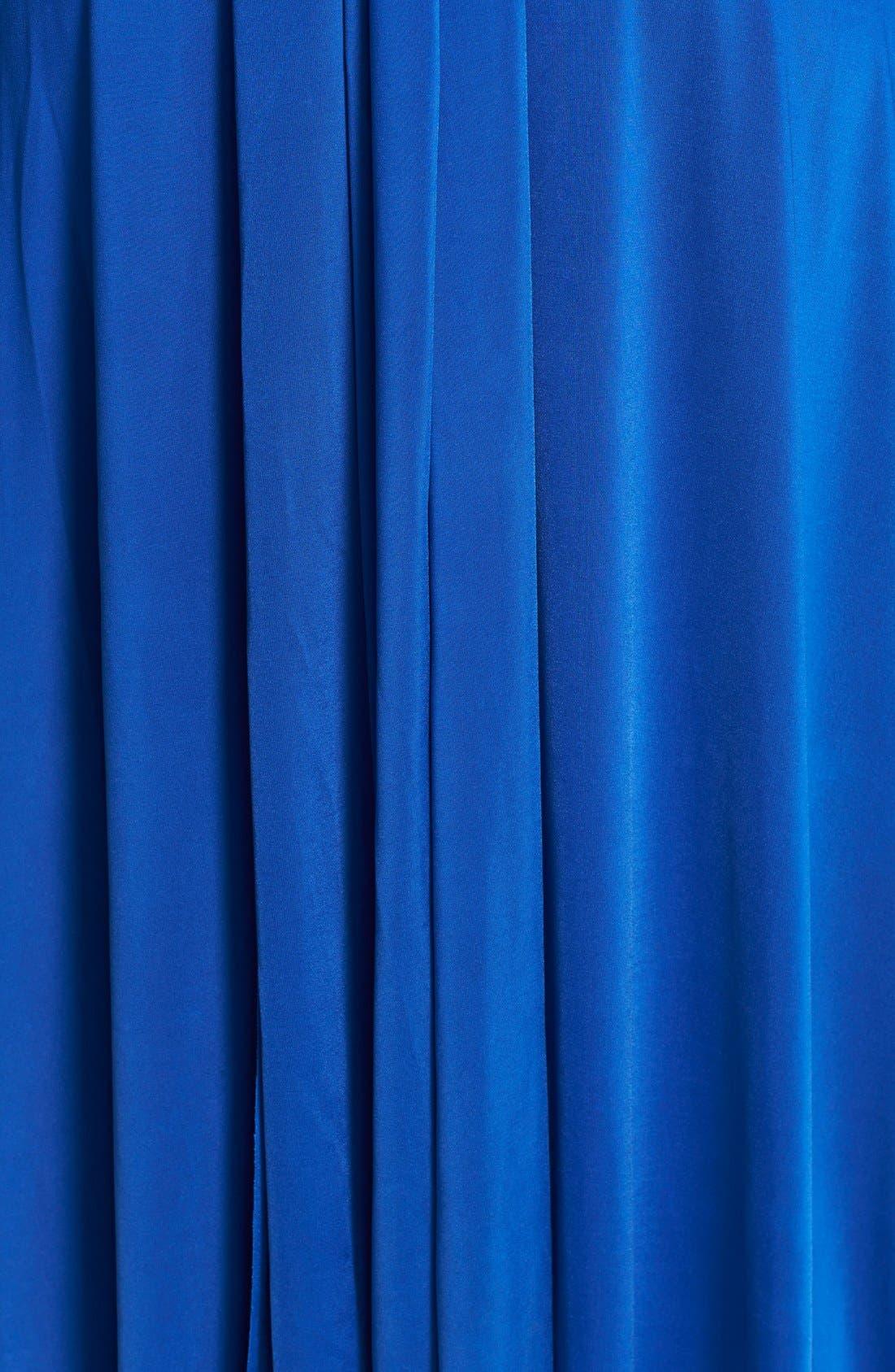 Convertible Wrap Tie Surplice Jersey Gown,                             Alternate thumbnail 42, color,