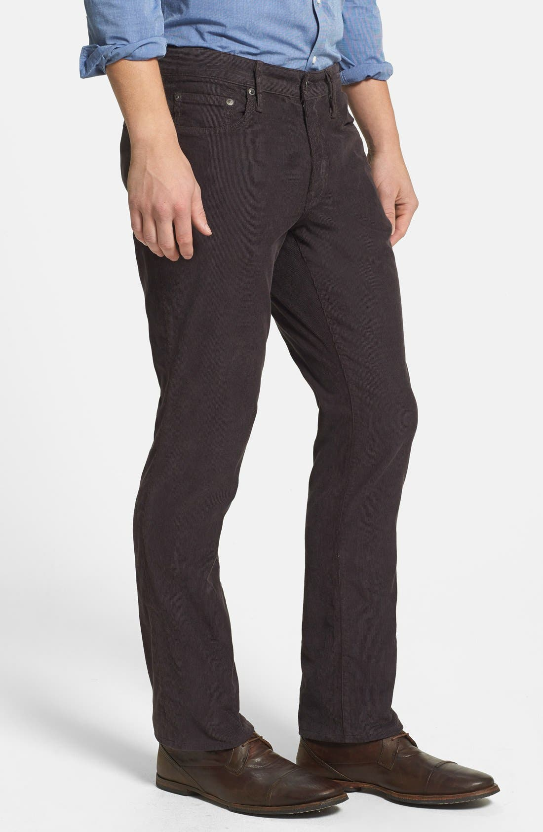 BONOBOS,                             Straight Leg Five-Pocket Corduroy Pants,                             Alternate thumbnail 2, color,                             020