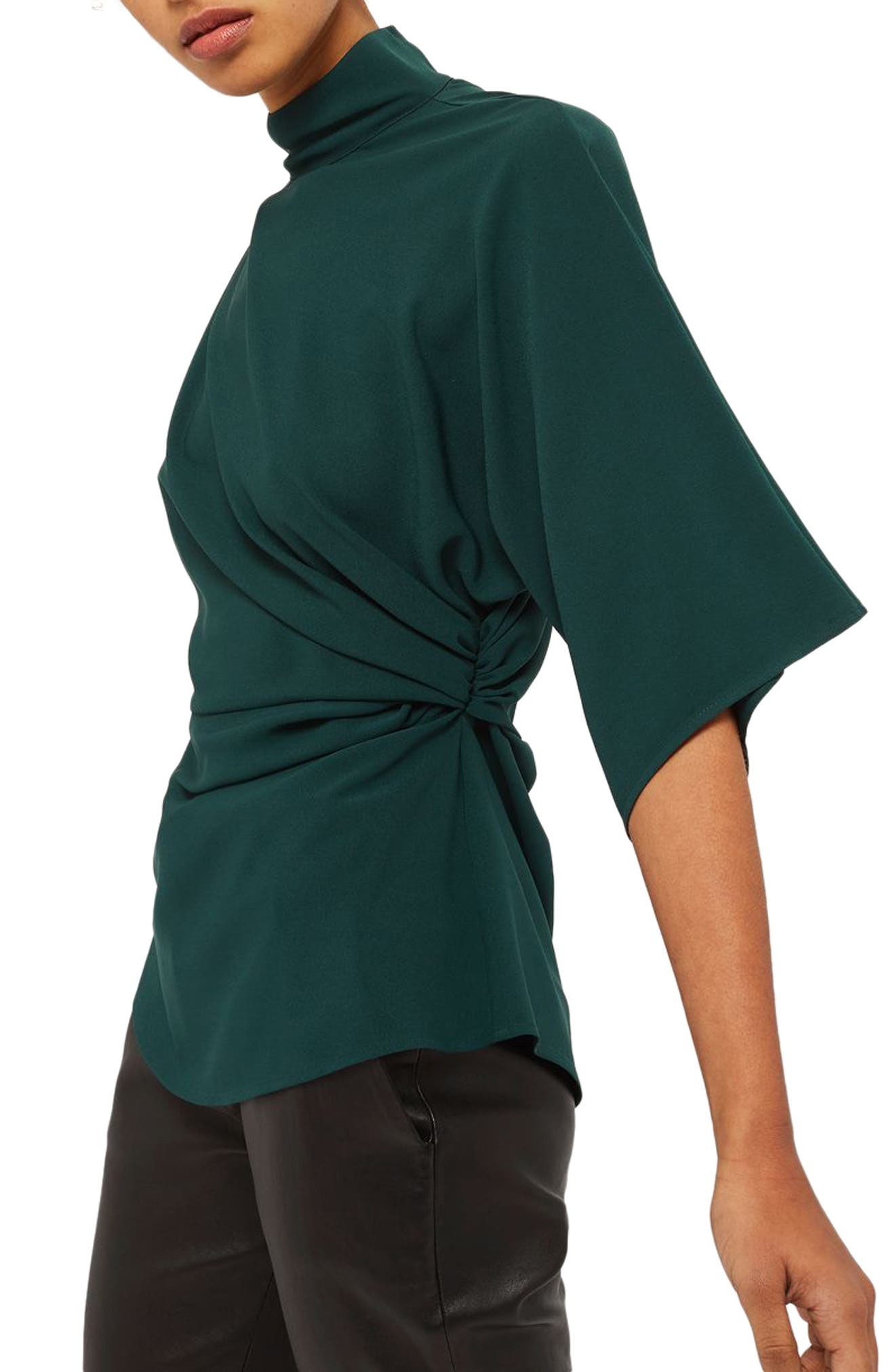 Origami Tuck Blouse,                         Main,                         color, 301