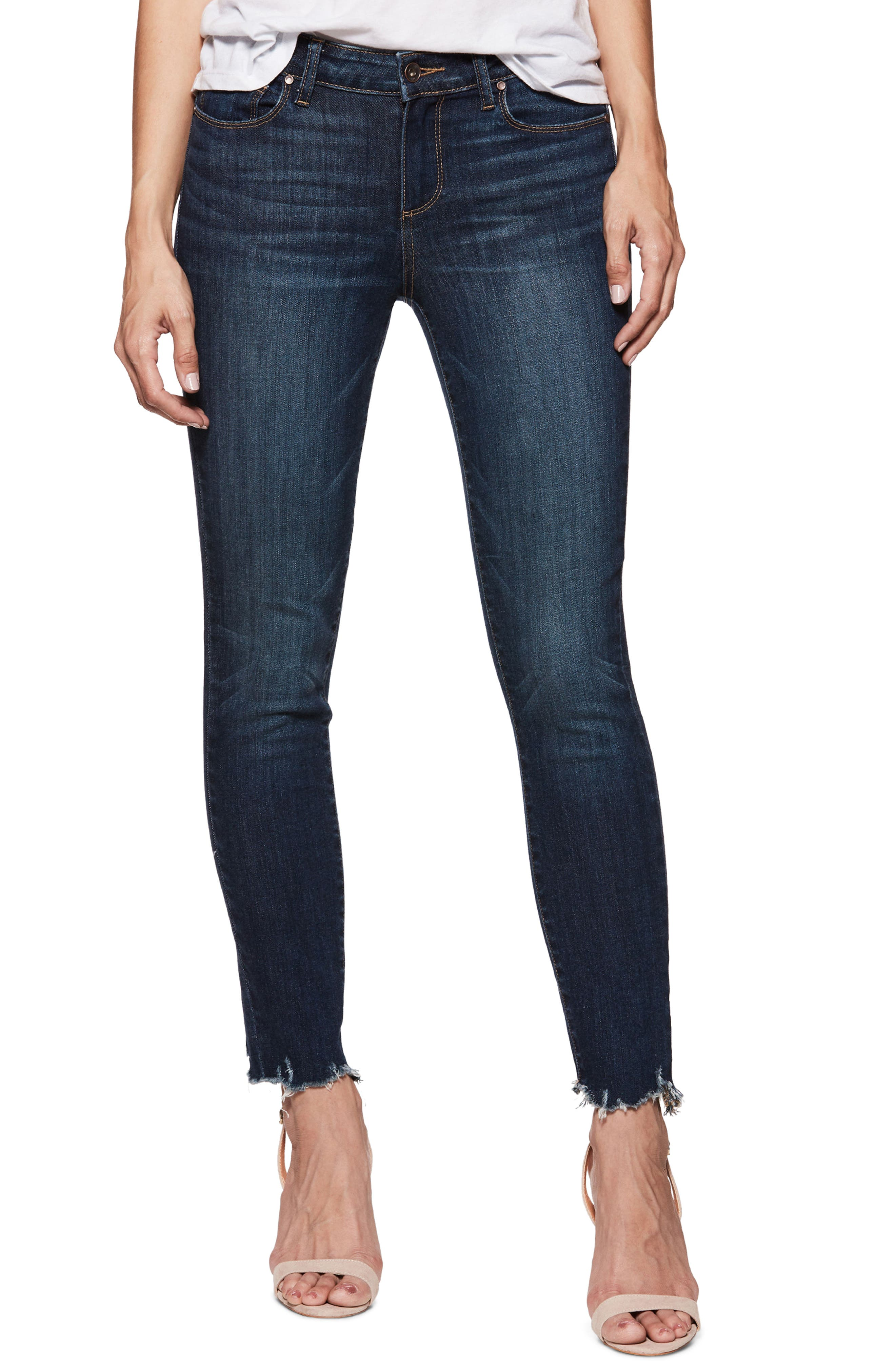 Verdugo Transcend Vintage Ankle Skinny Jeans,                         Main,                         color, BARTON