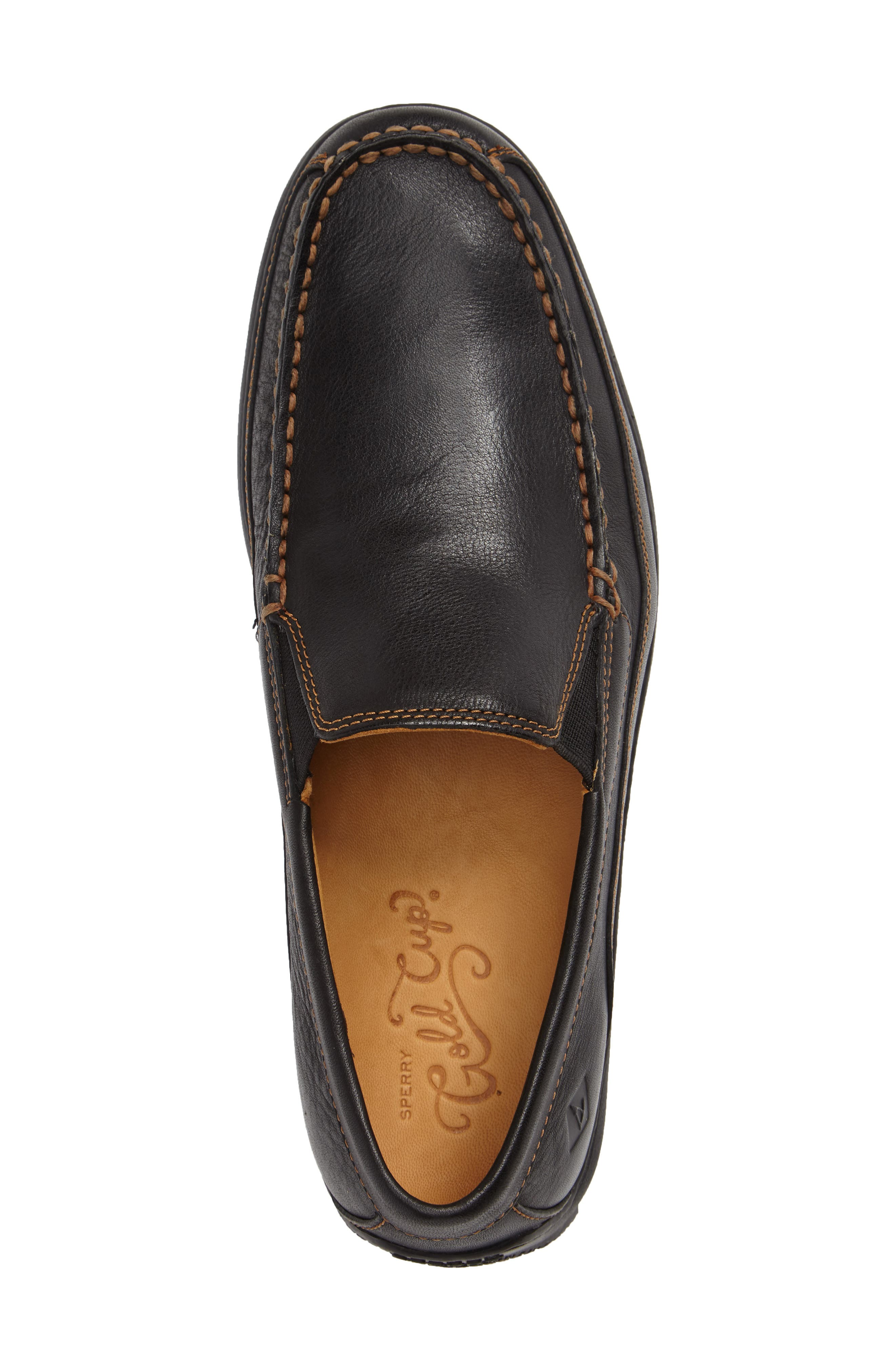 Gold Cup Loafer,                             Alternate thumbnail 3, color,                             001