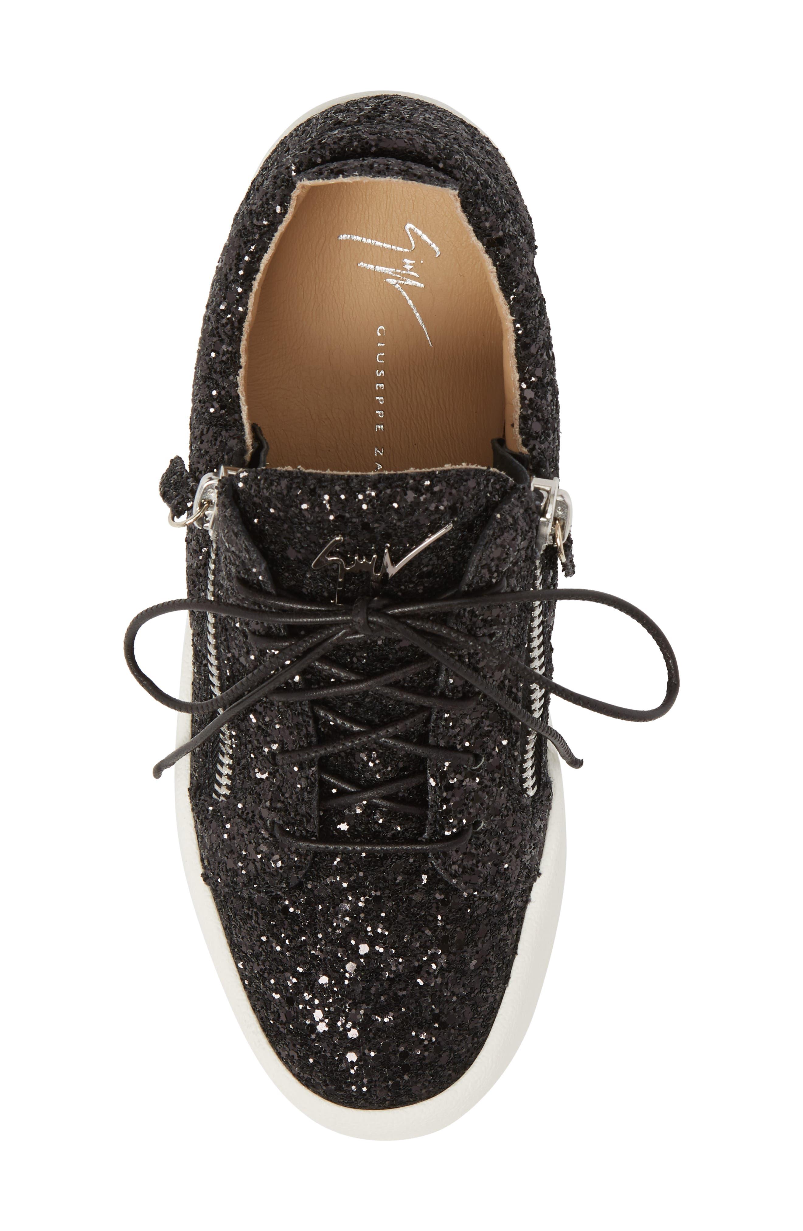 May London Low Top Sneaker,                             Alternate thumbnail 5, color,                             BLACK