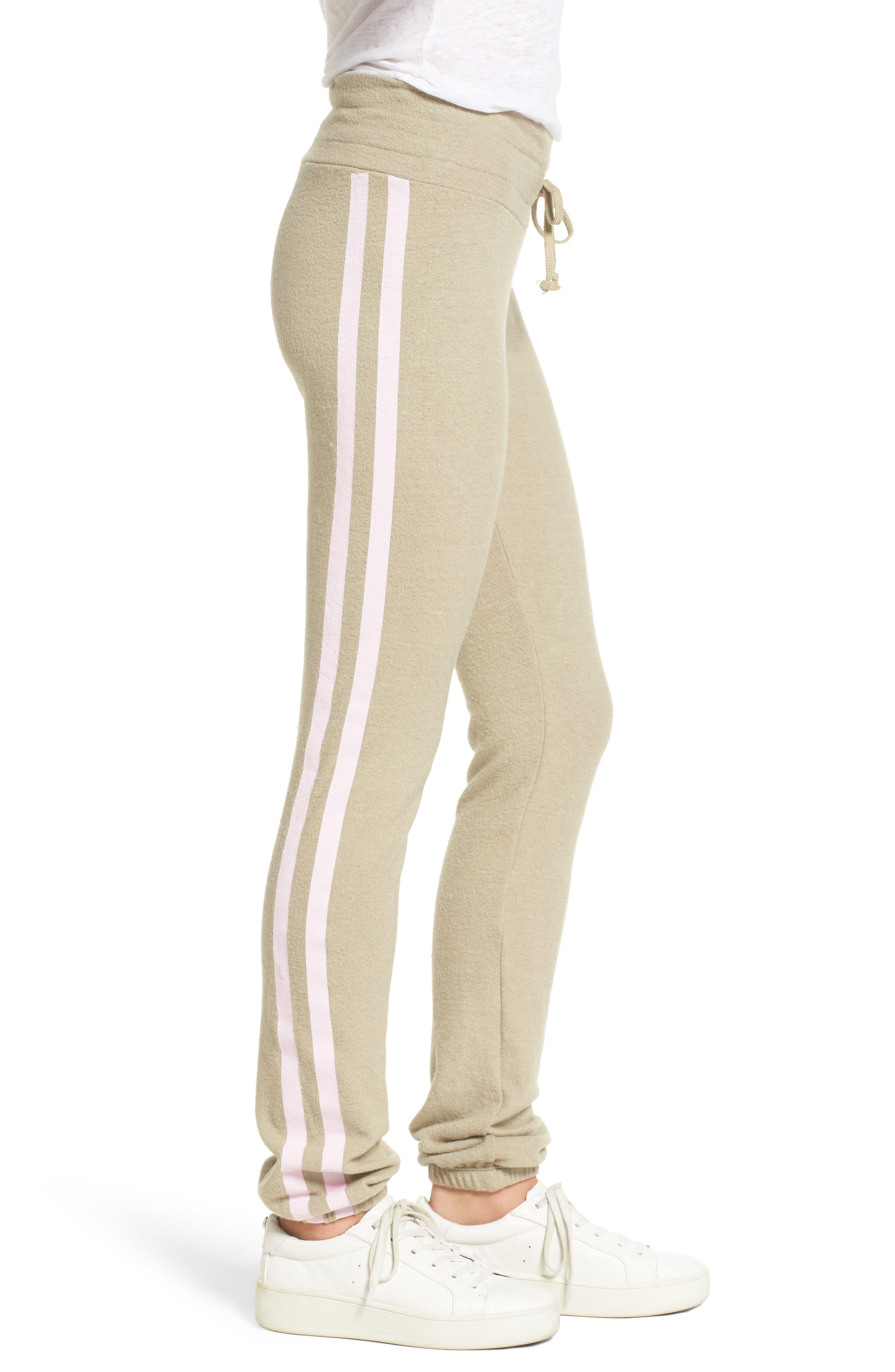 Sporty Stripe Track Pants,                             Alternate thumbnail 3, color,                             240