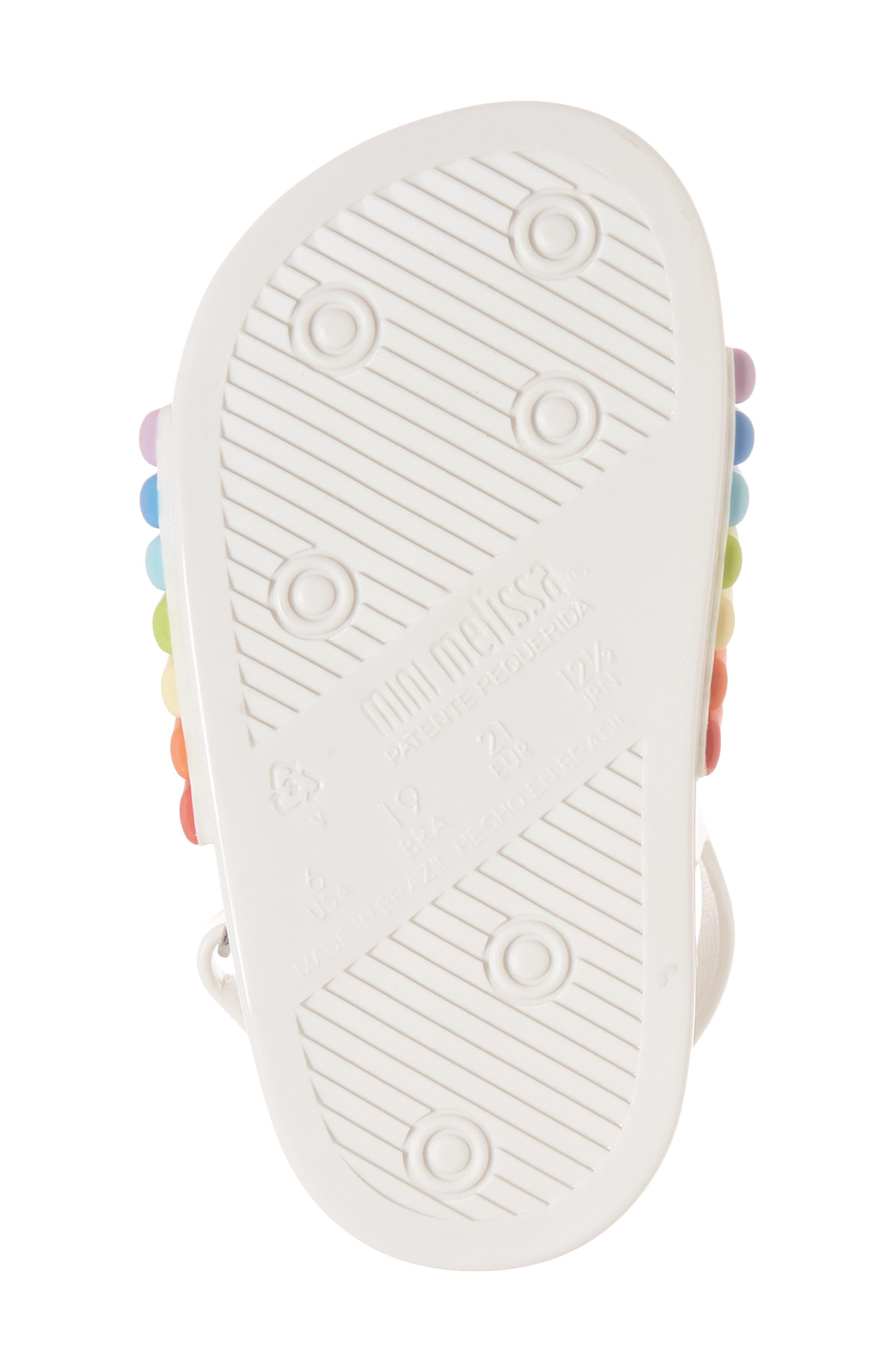 Rainbow Beach Sandal,                             Alternate thumbnail 6, color,                             100