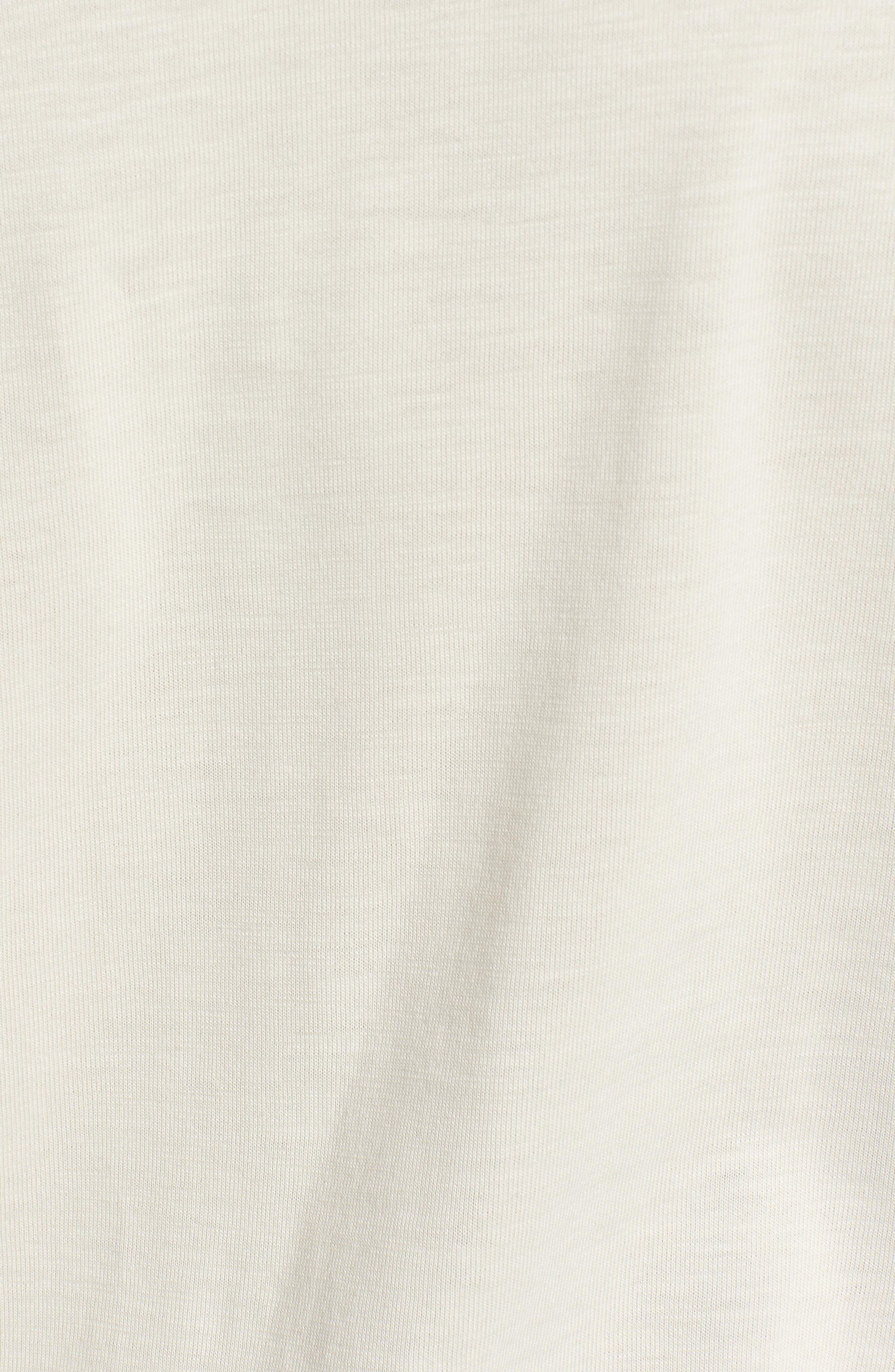 Sportswear AF1 Graphic T-Shirt,                             Alternate thumbnail 5, color,                             LIGHT BONE/ KHAKI