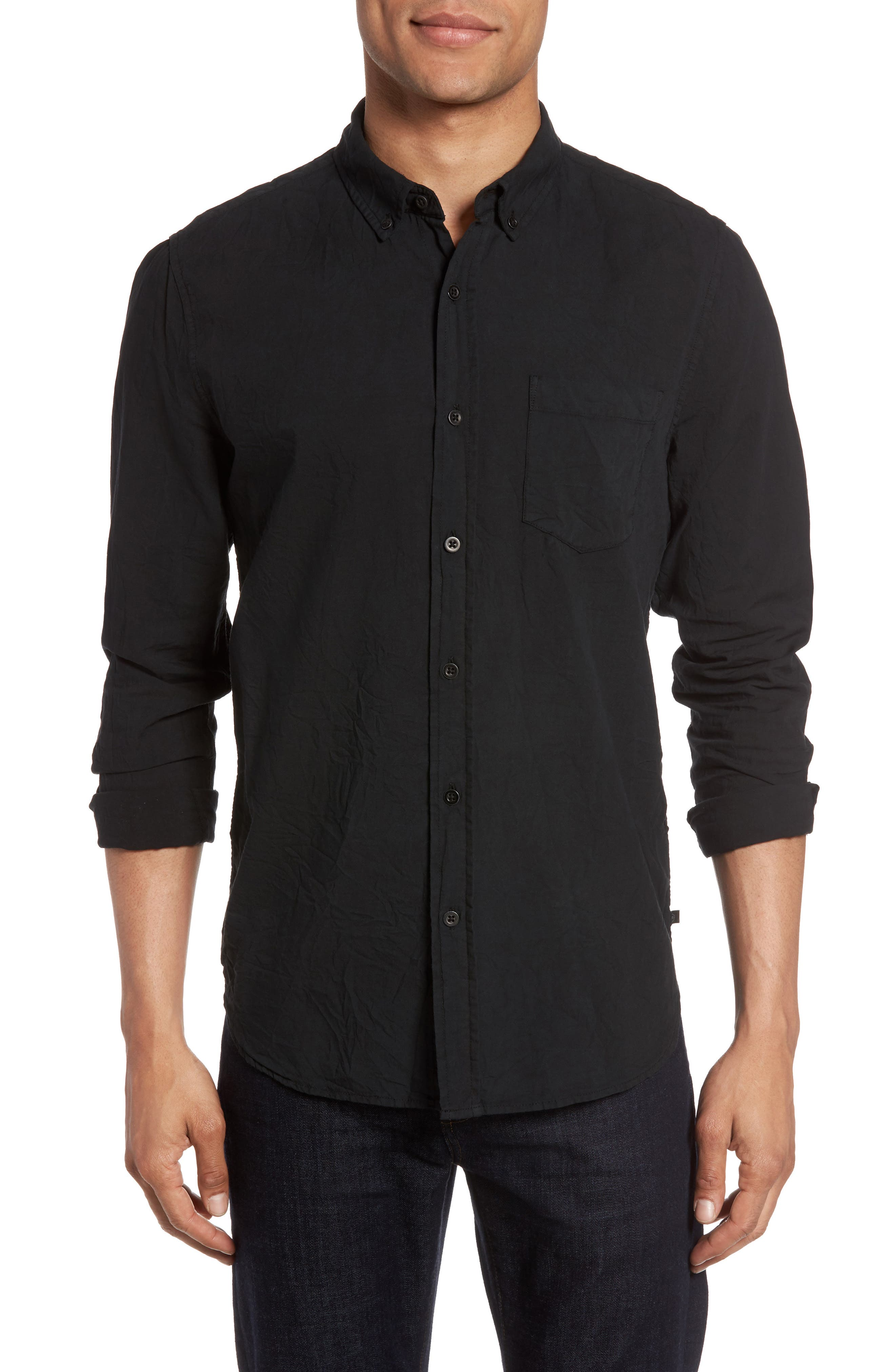 Grady Slim Fit Organic Cotton Sport Shirt,                         Main,                         color,