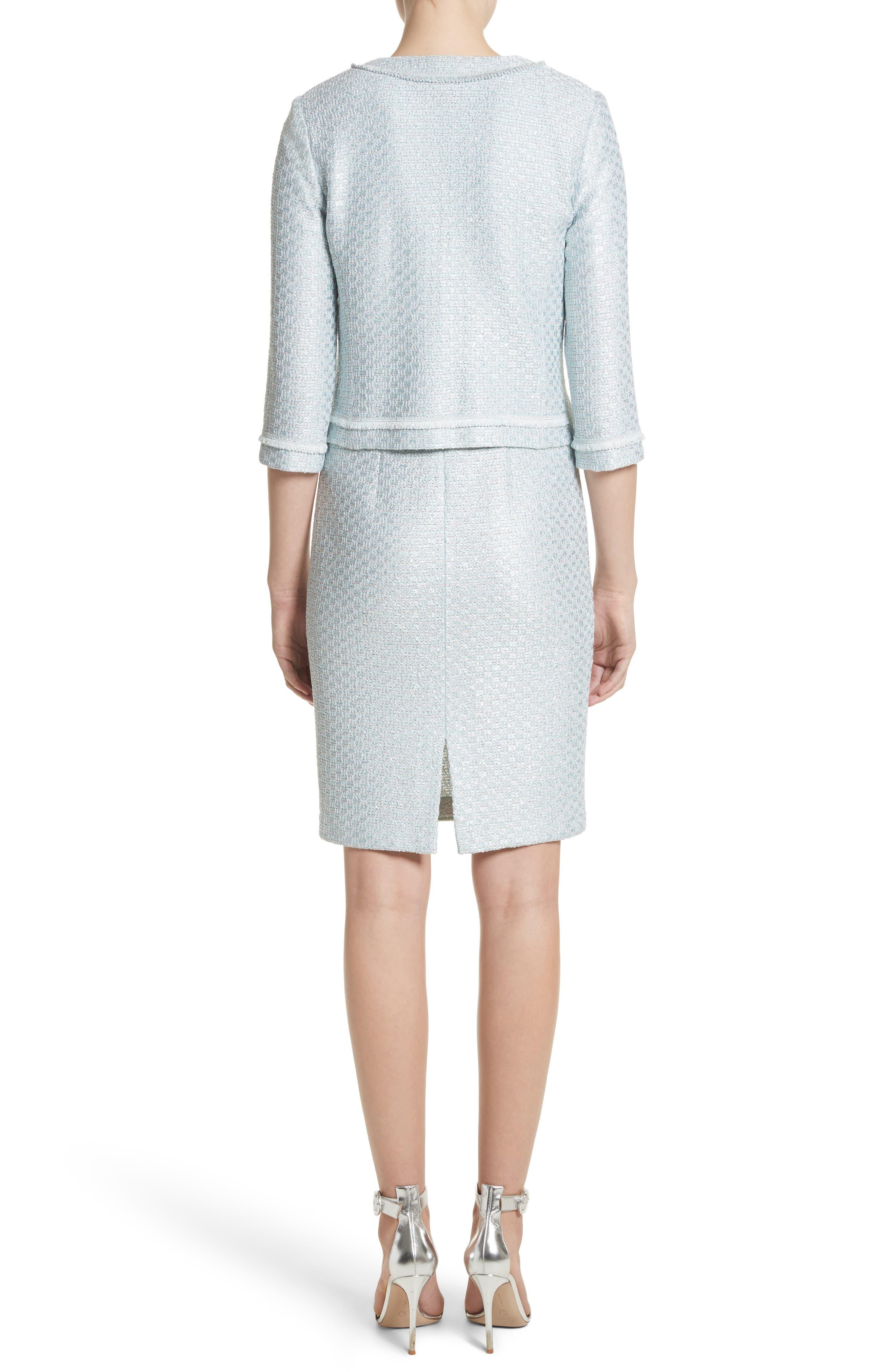 Hansh Sequin Knit Jacket,                             Alternate thumbnail 2, color,                             440