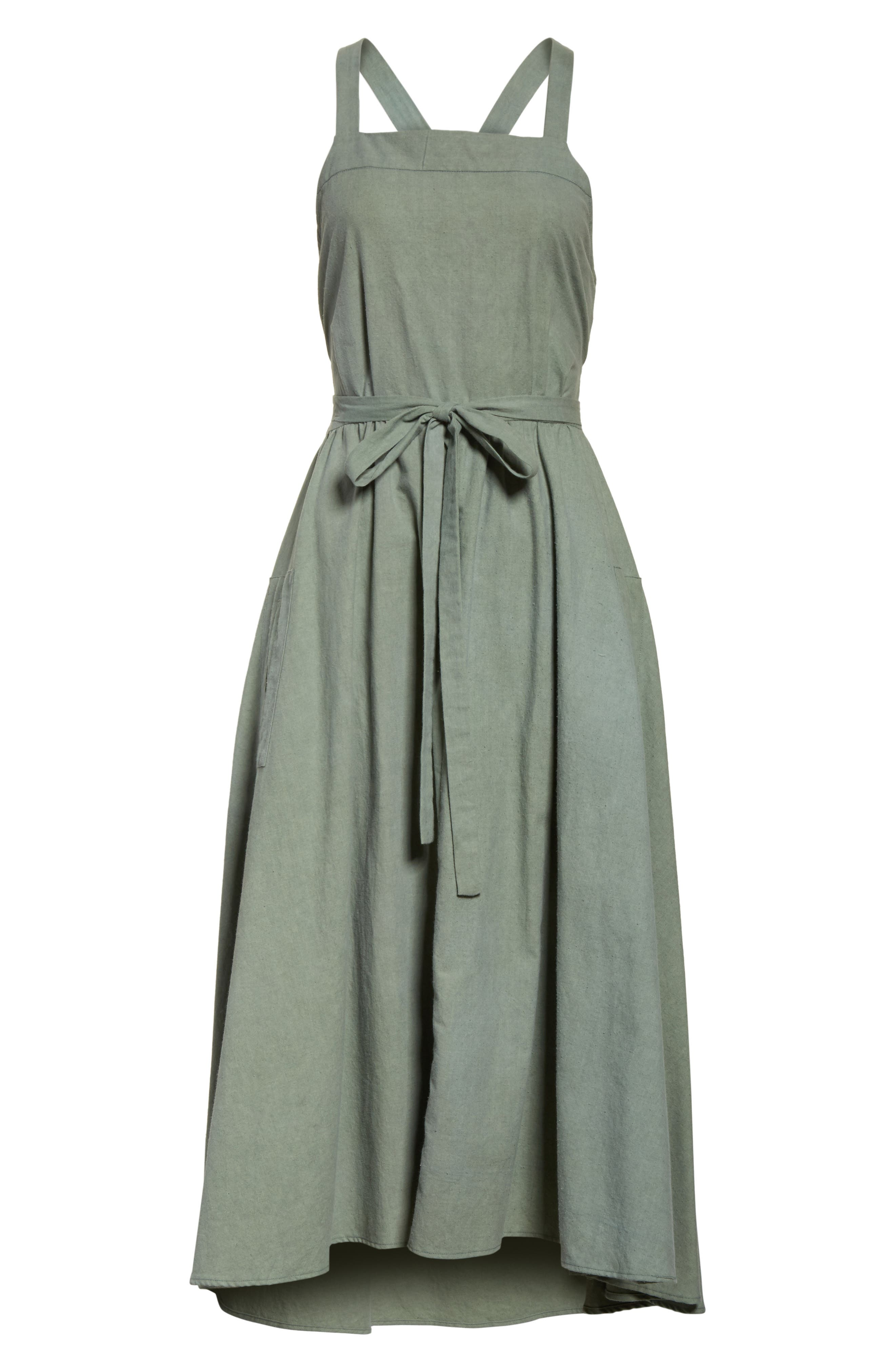 The Apron Dress,                             Alternate thumbnail 6, color,                             300