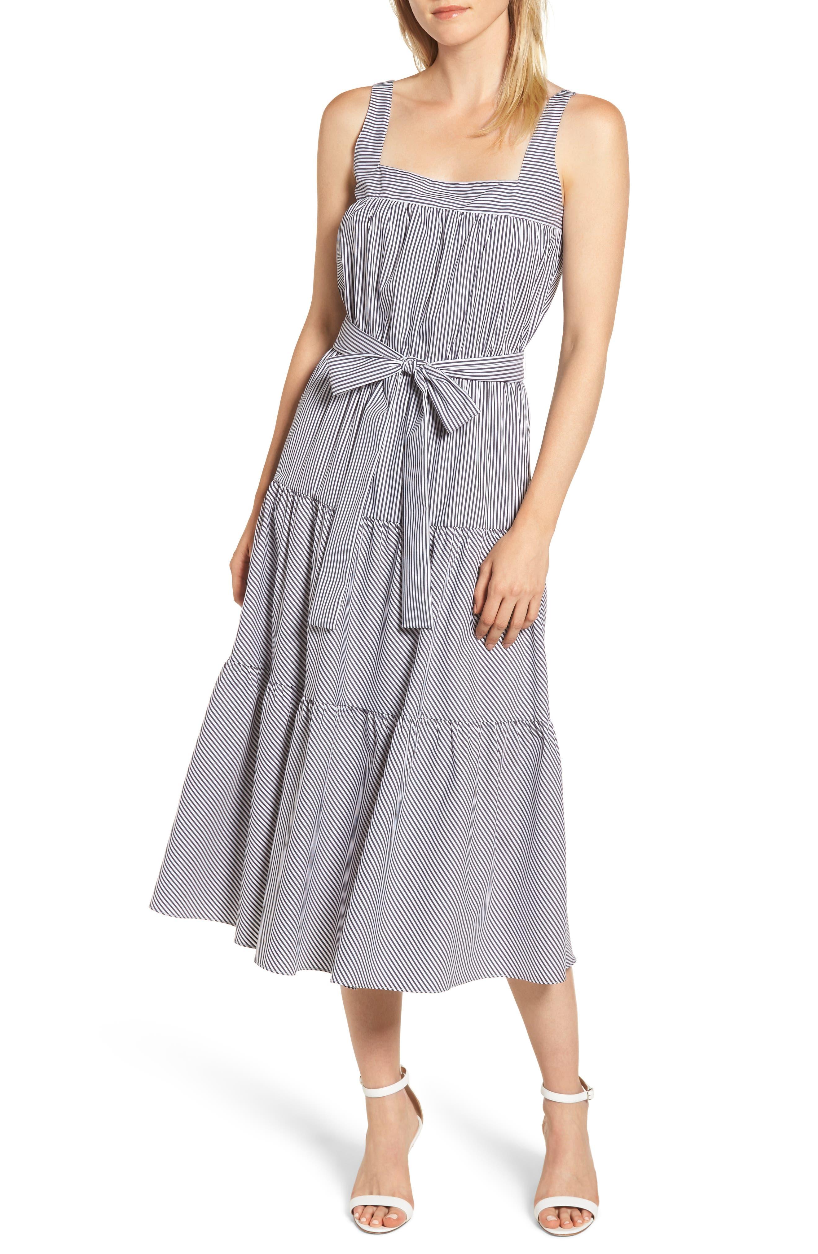Michael Michael Kors Tiered Midi Dress