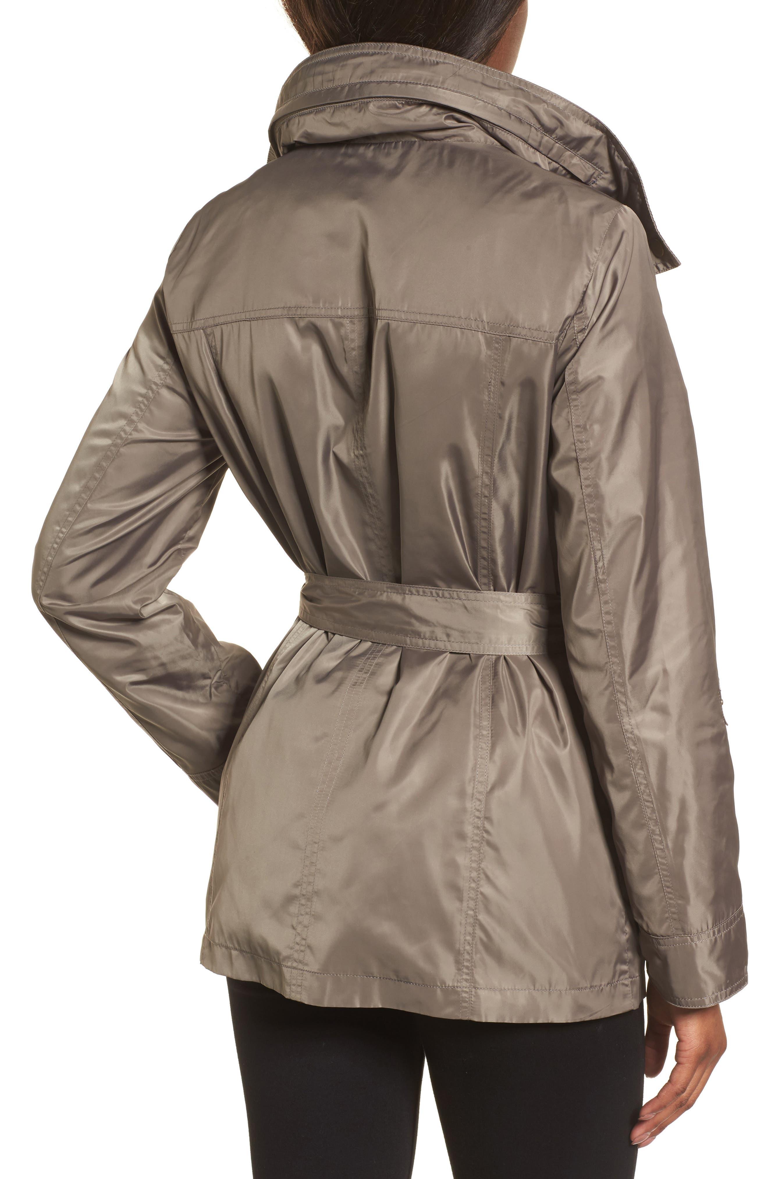 Belted Lightweight Jacket,                             Alternate thumbnail 6, color,