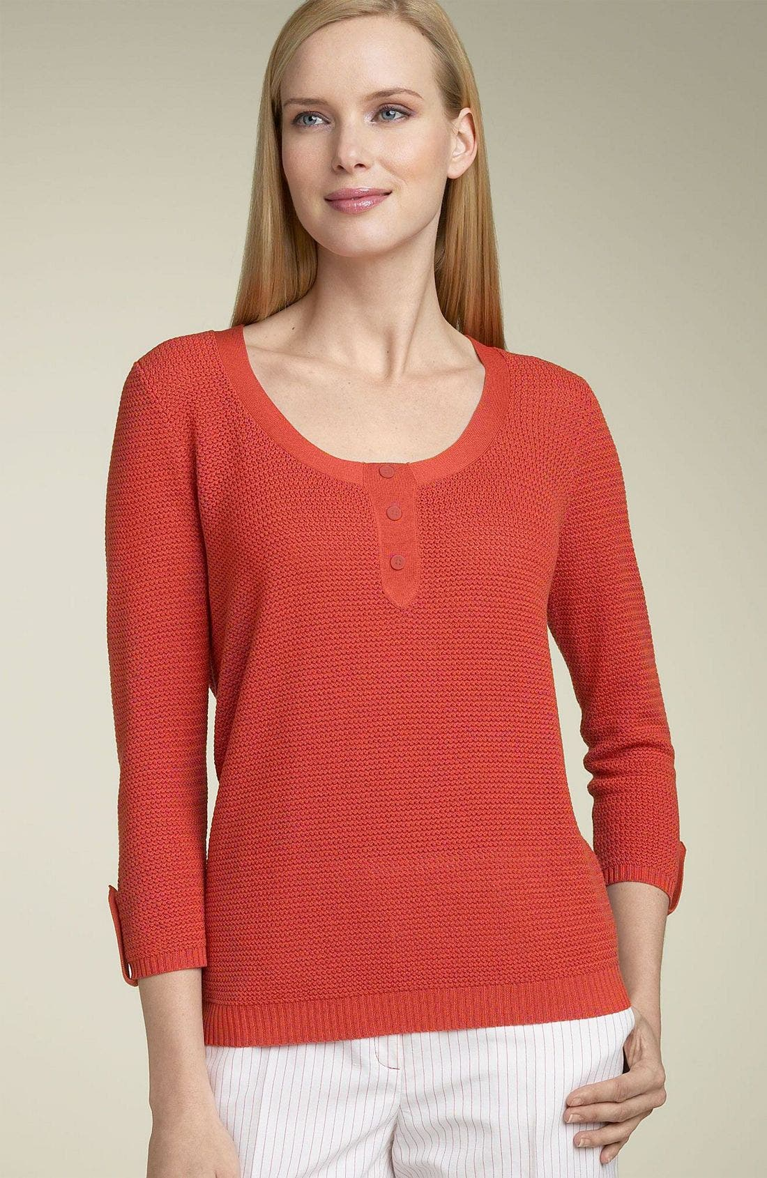 F. FAÇONNABLE Façonnable 'Popcorn' Sweater, Main, color, PPA