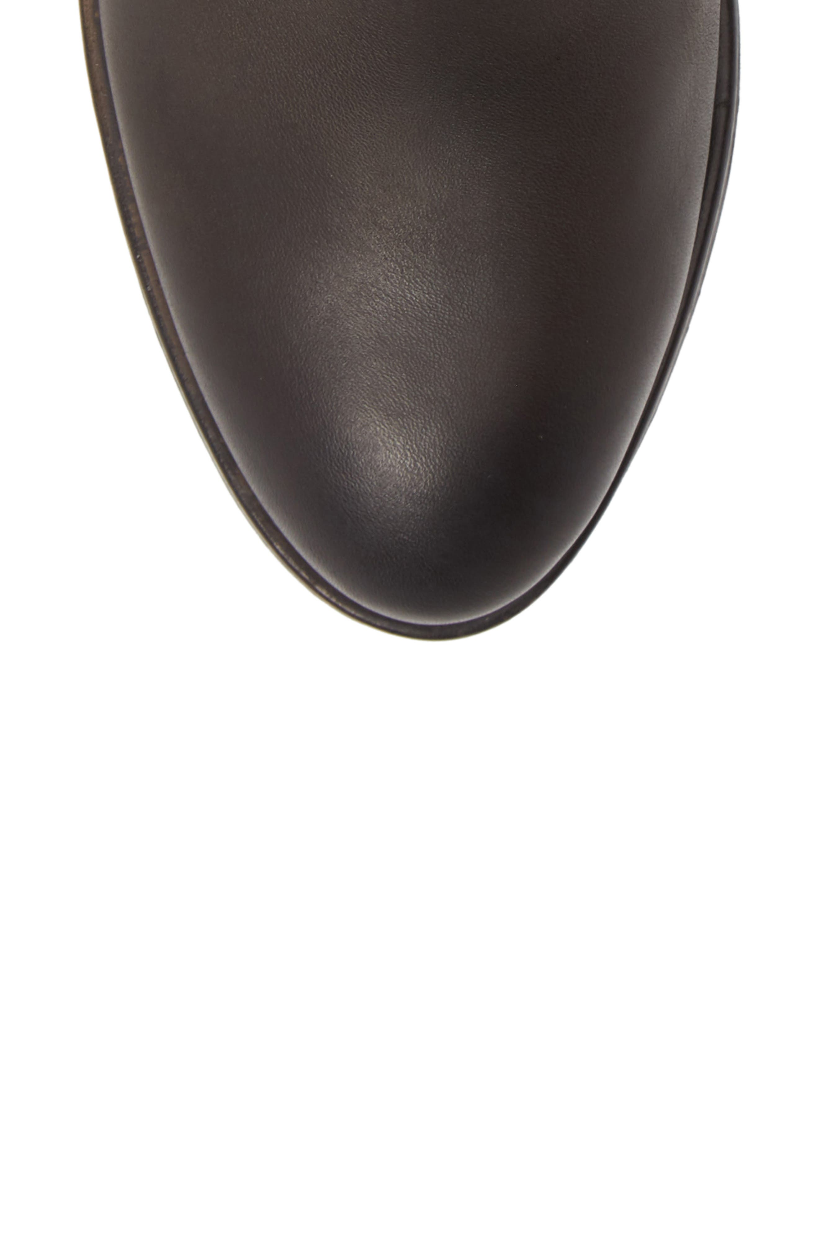 Baqueira Bootie,                             Alternate thumbnail 5, color,                             LEAD LEATHER