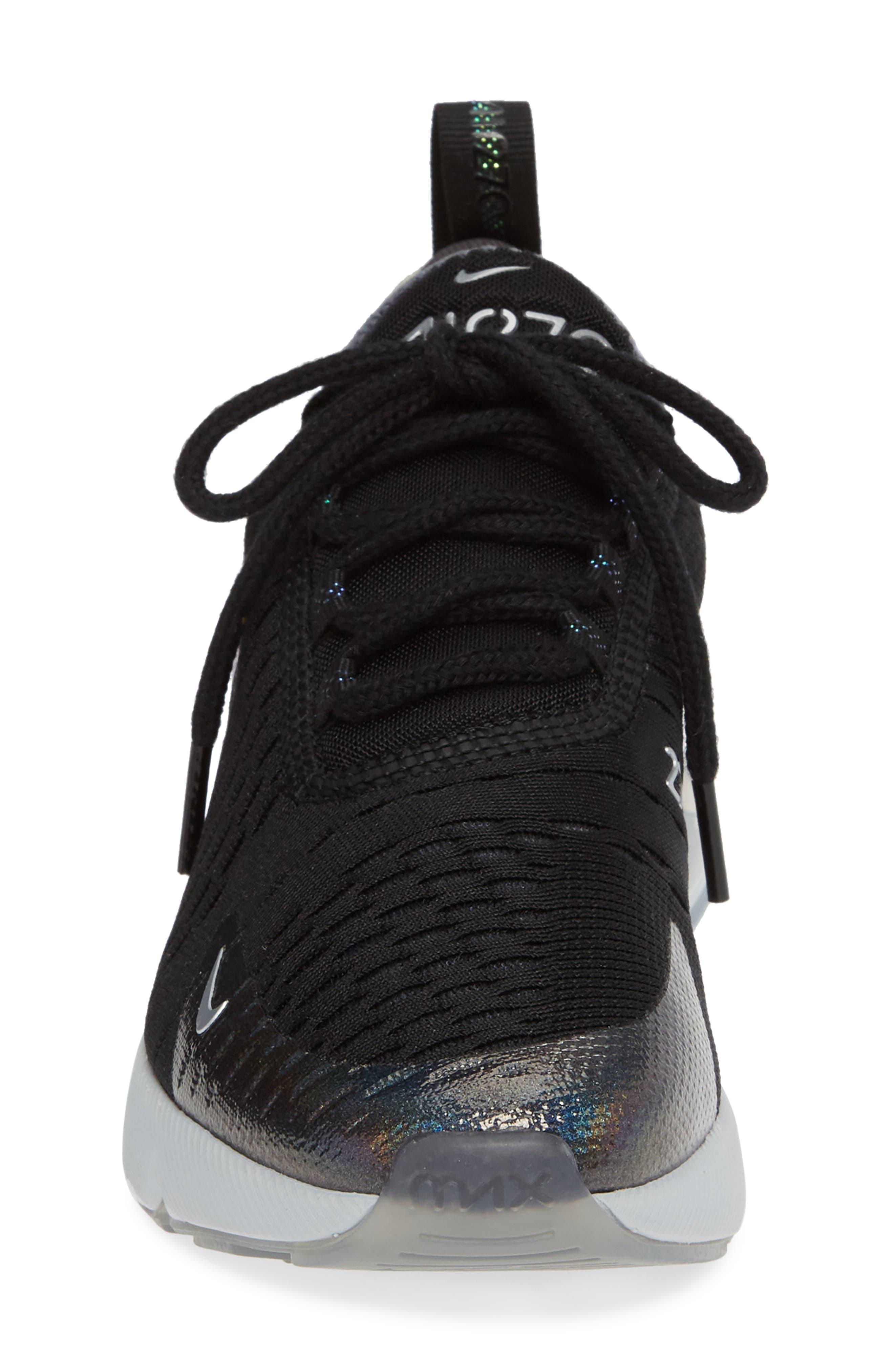 Air Max 270 Y2K Sneaker,                             Alternate thumbnail 4, color,                             BLACK