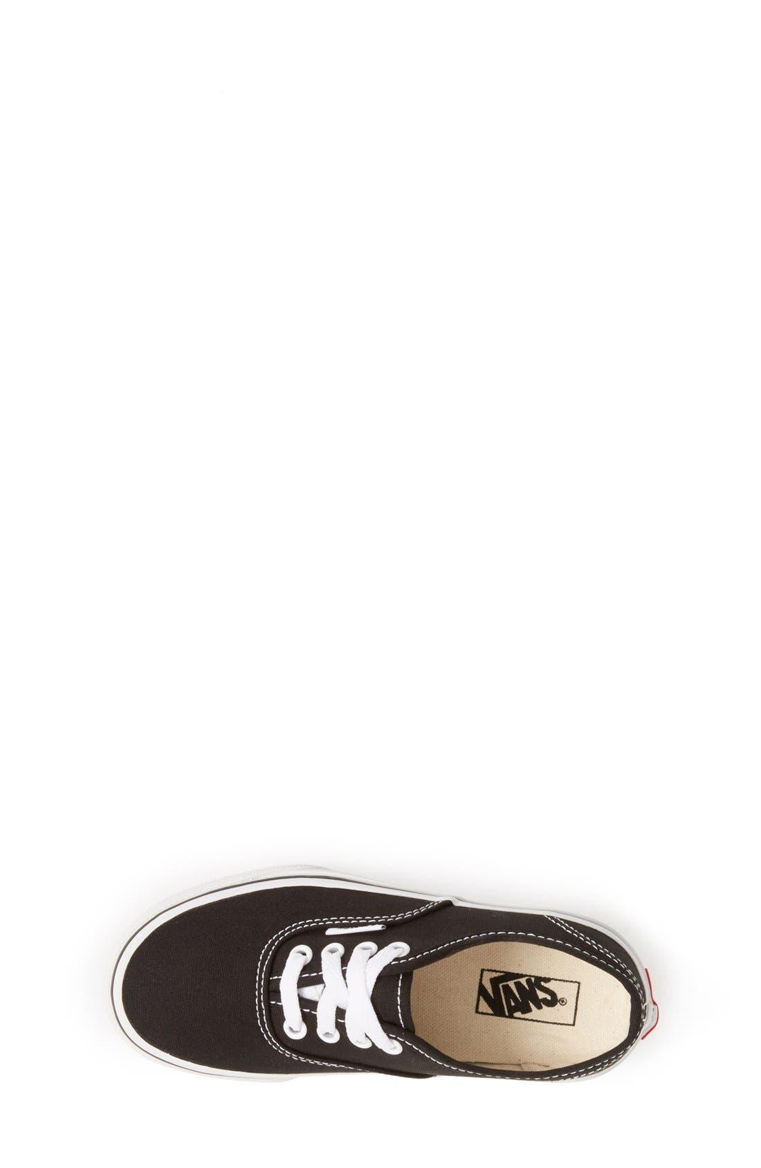 'Authentic' Sneaker,                             Alternate thumbnail 9, color,                             BLACK/ BLACK/ BLACK