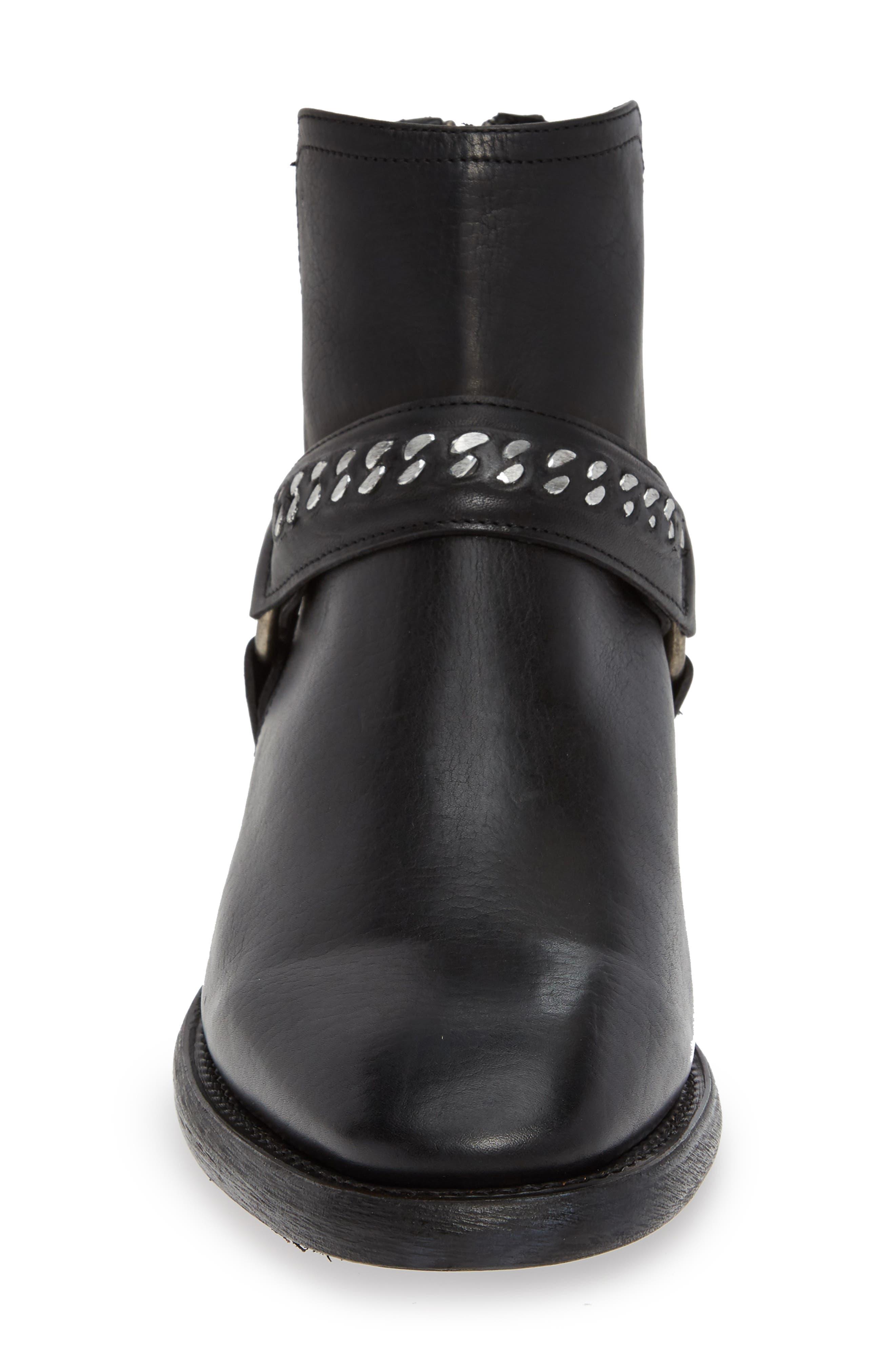 Chelsea Boot,                             Alternate thumbnail 4, color,                             BLACK