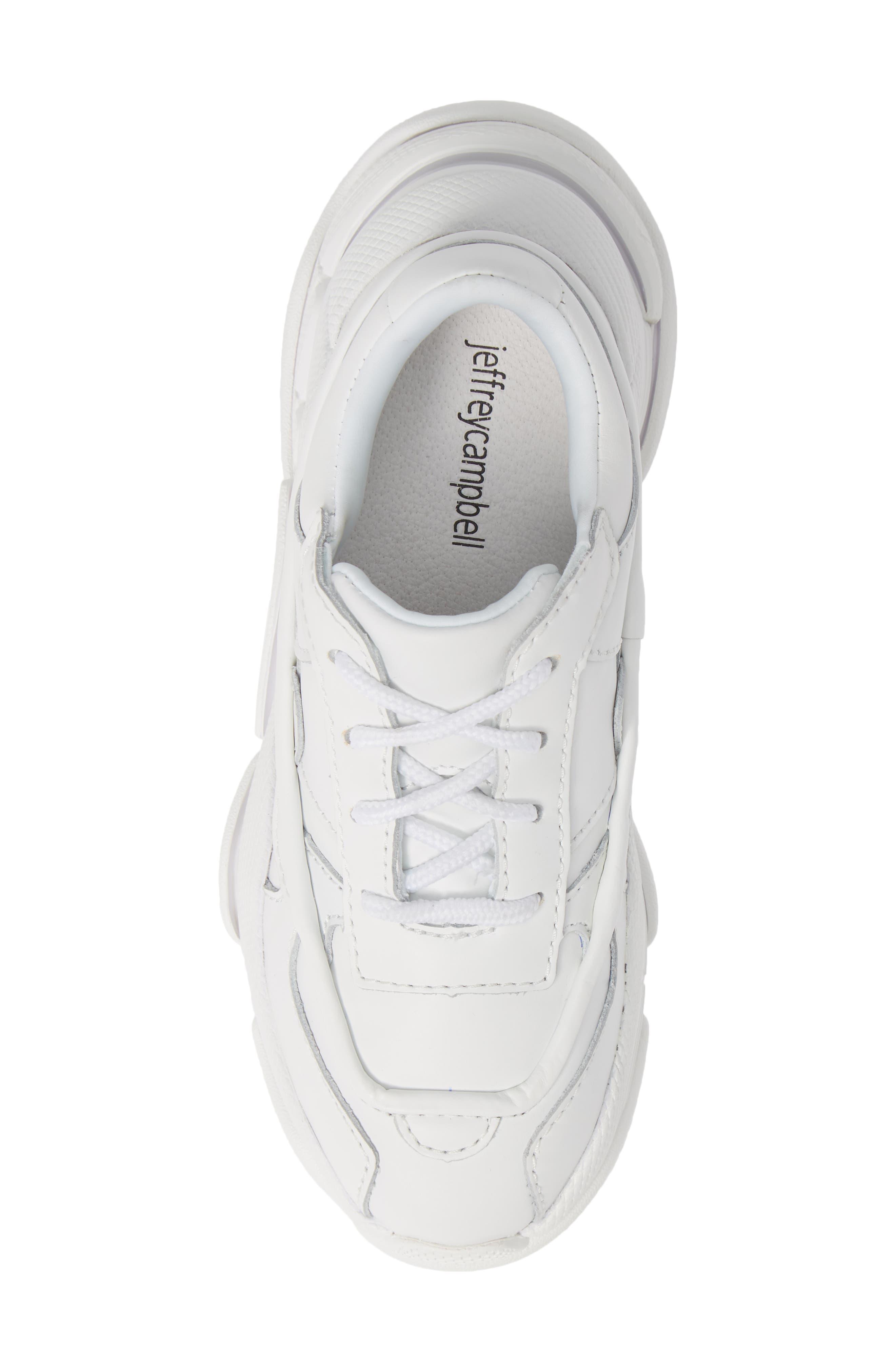 Malware Wedge Sneaker,                             Alternate thumbnail 5, color,                             WHITE