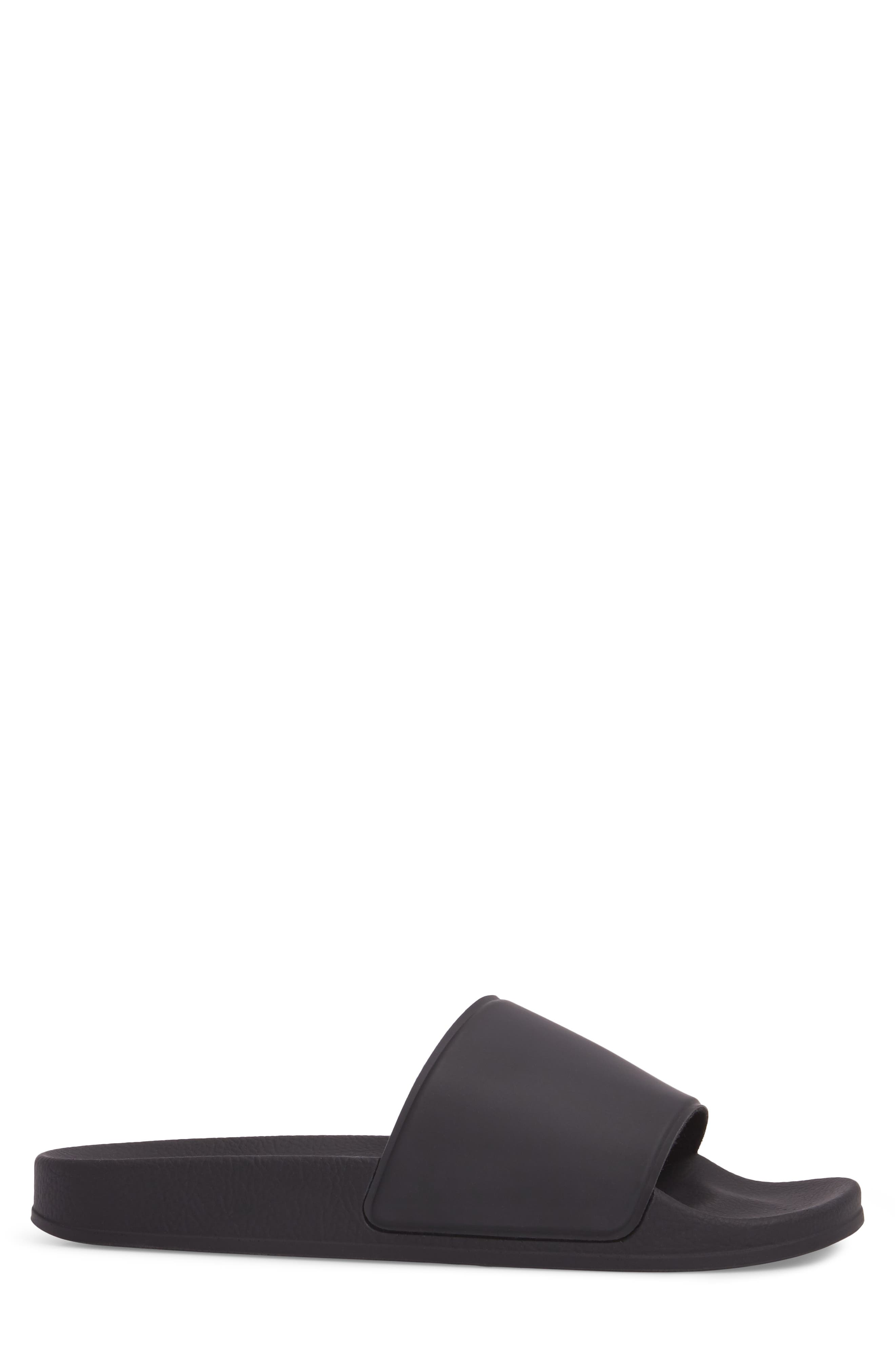 Bondi Slide Sandal,                             Alternate thumbnail 3, color,                             BLACK