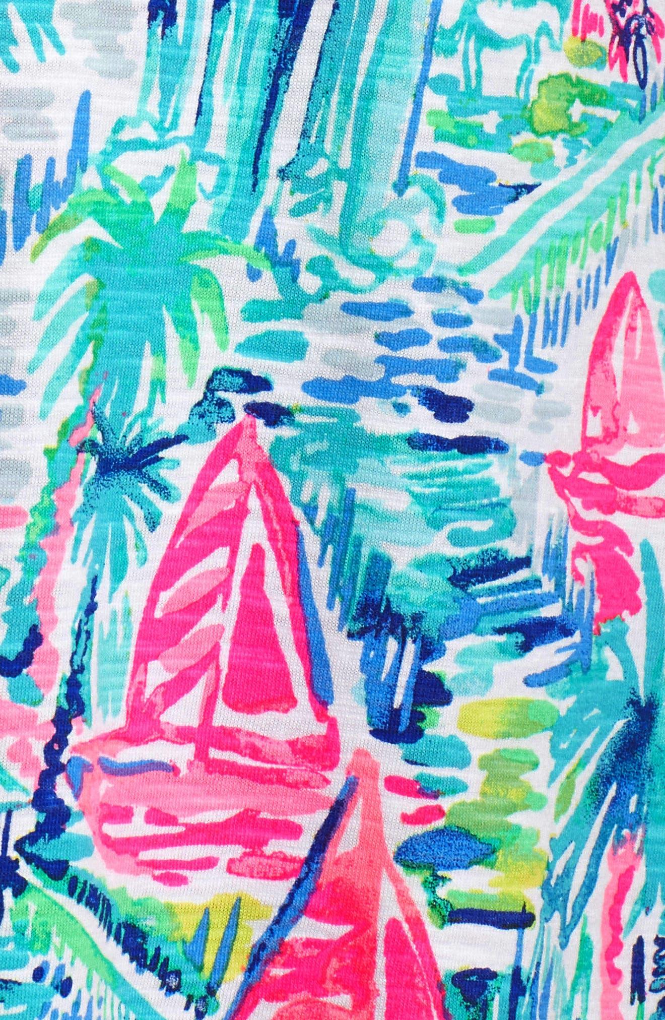Essie Shift Dress,                             Alternate thumbnail 6, color,                             MULTI