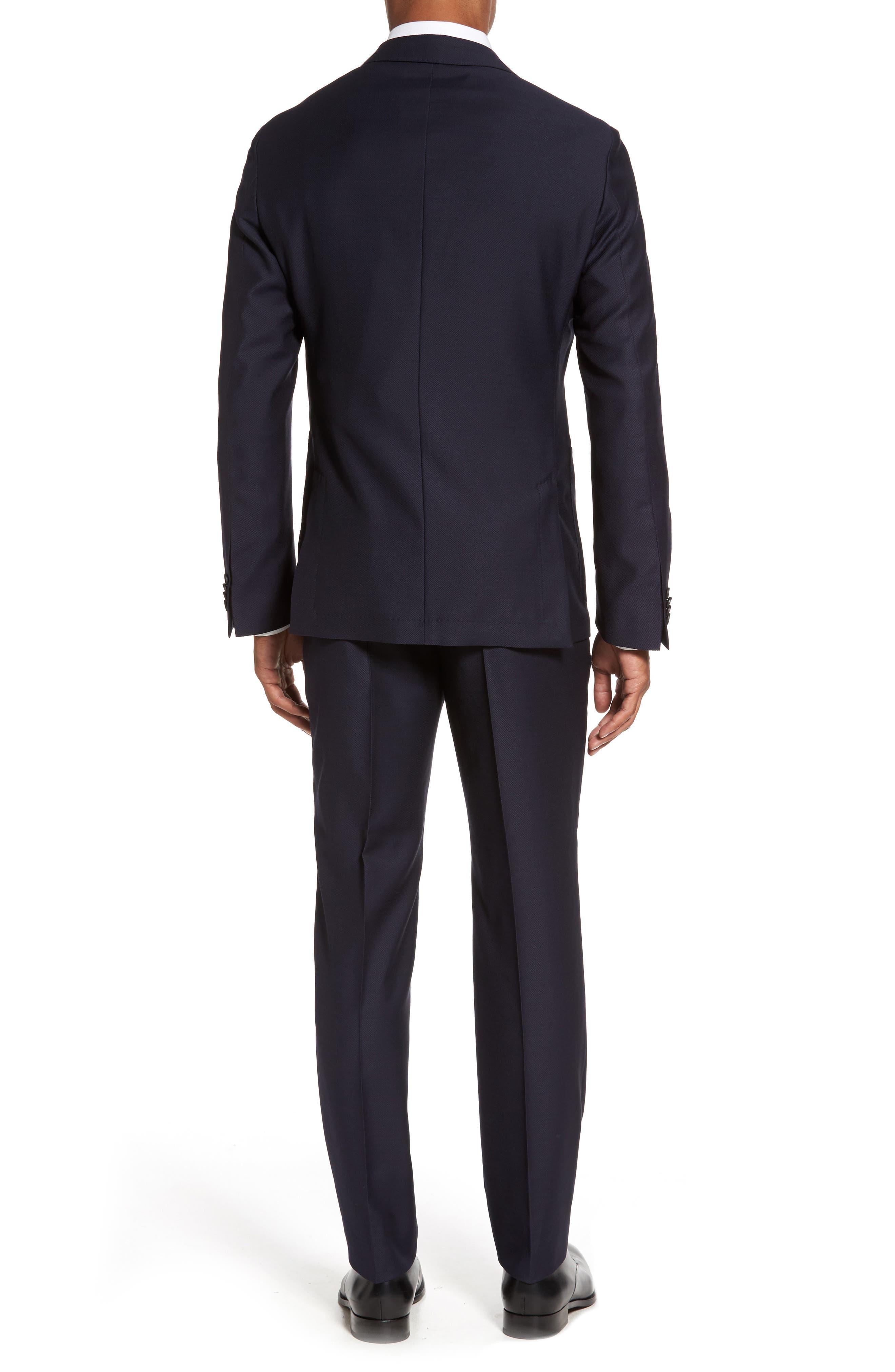 Novan/Ben Classic Fit Solid Wool Suit,                             Alternate thumbnail 2, color,                             410