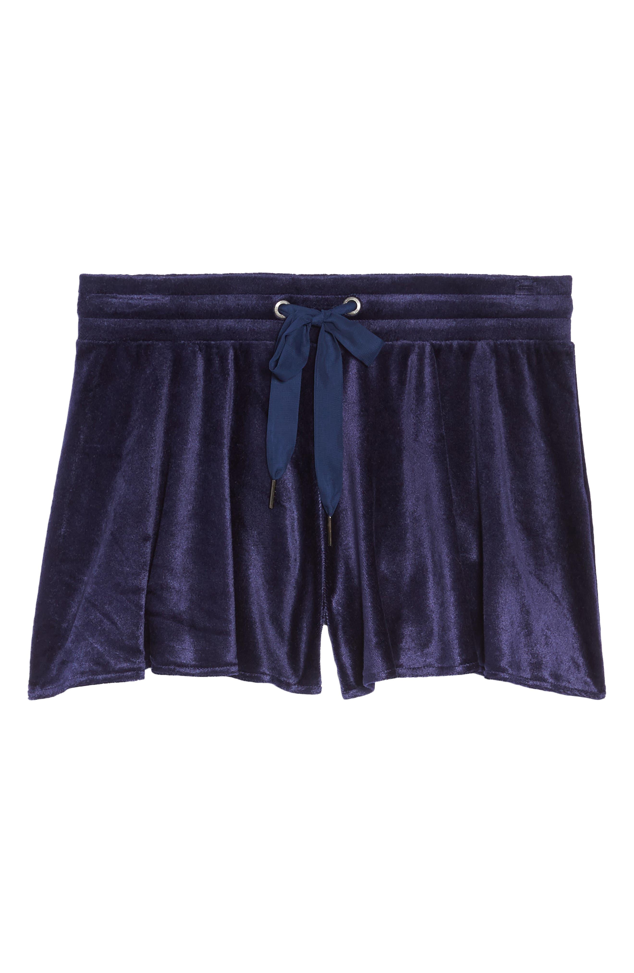 Paris Velour Lounge Shorts,                             Alternate thumbnail 18, color,