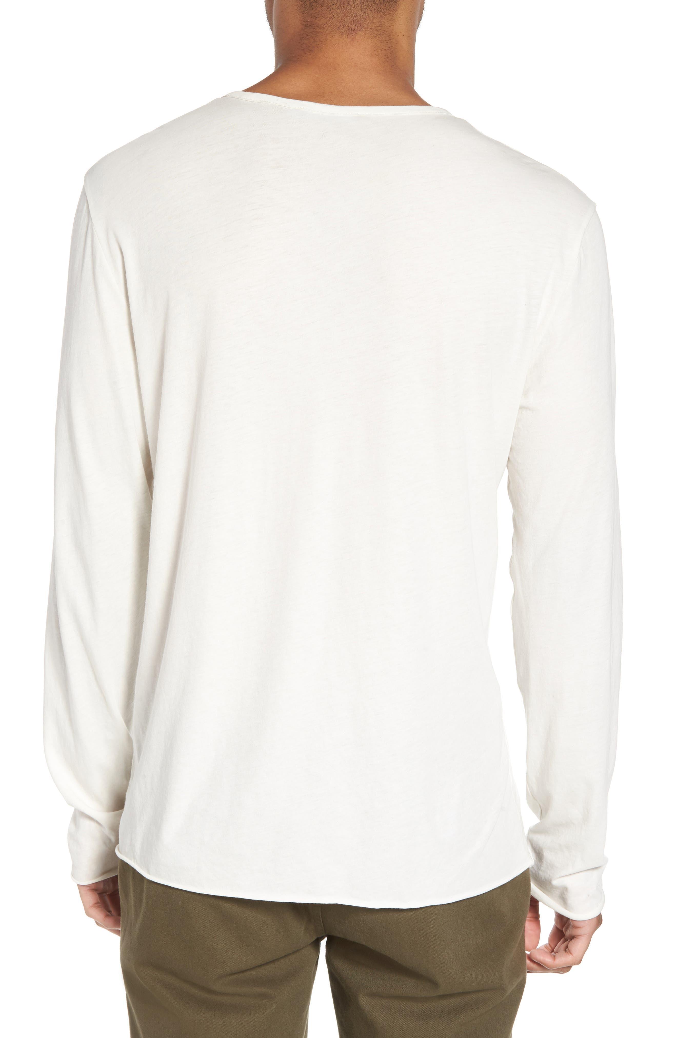 Slim Fit Stripe Pocket T-Shirt,                             Alternate thumbnail 6, color,