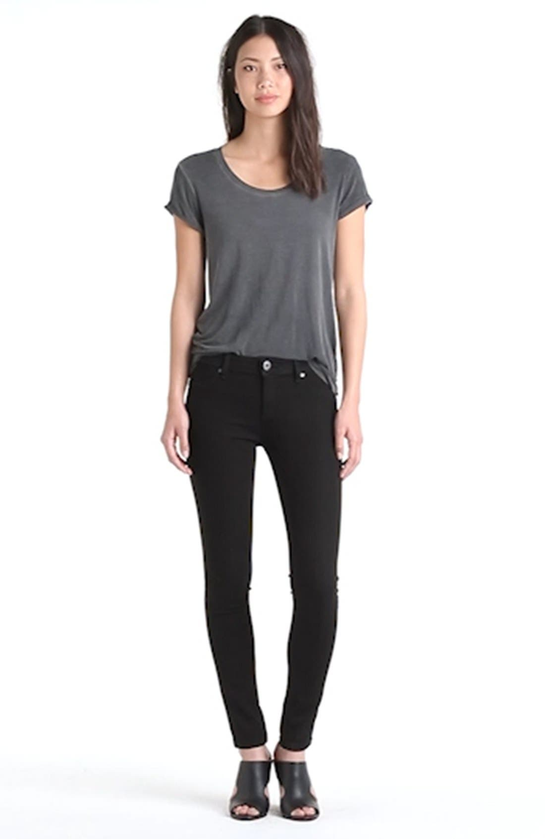 'Emma' Power Legging Jeans,                             Alternate thumbnail 7, color,