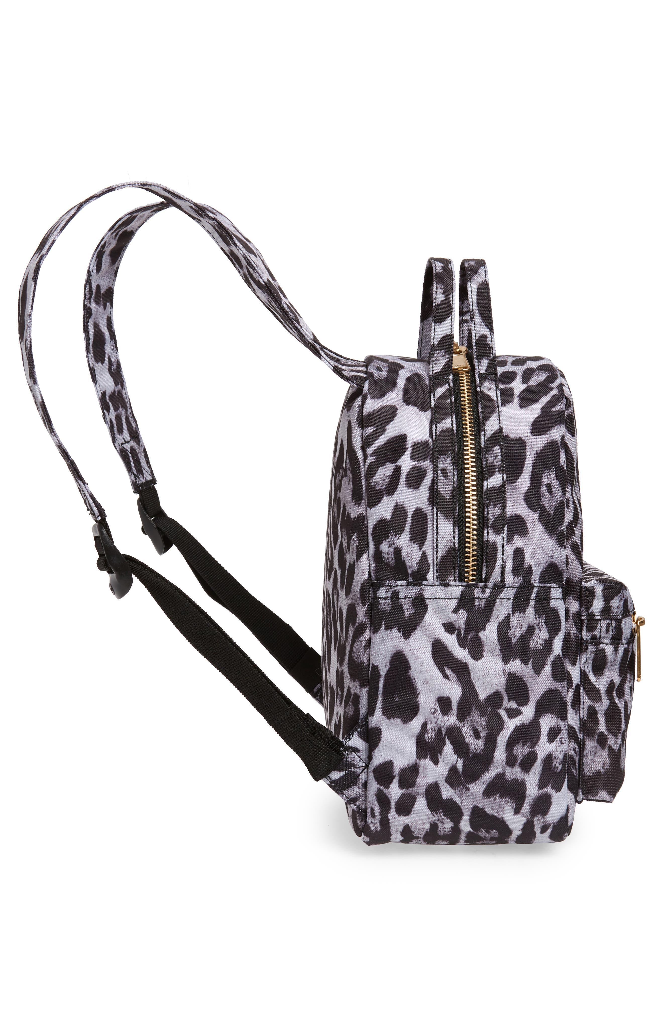 Mini Nova Backpack,                             Alternate thumbnail 5, color,                             SNOW LEOPARD