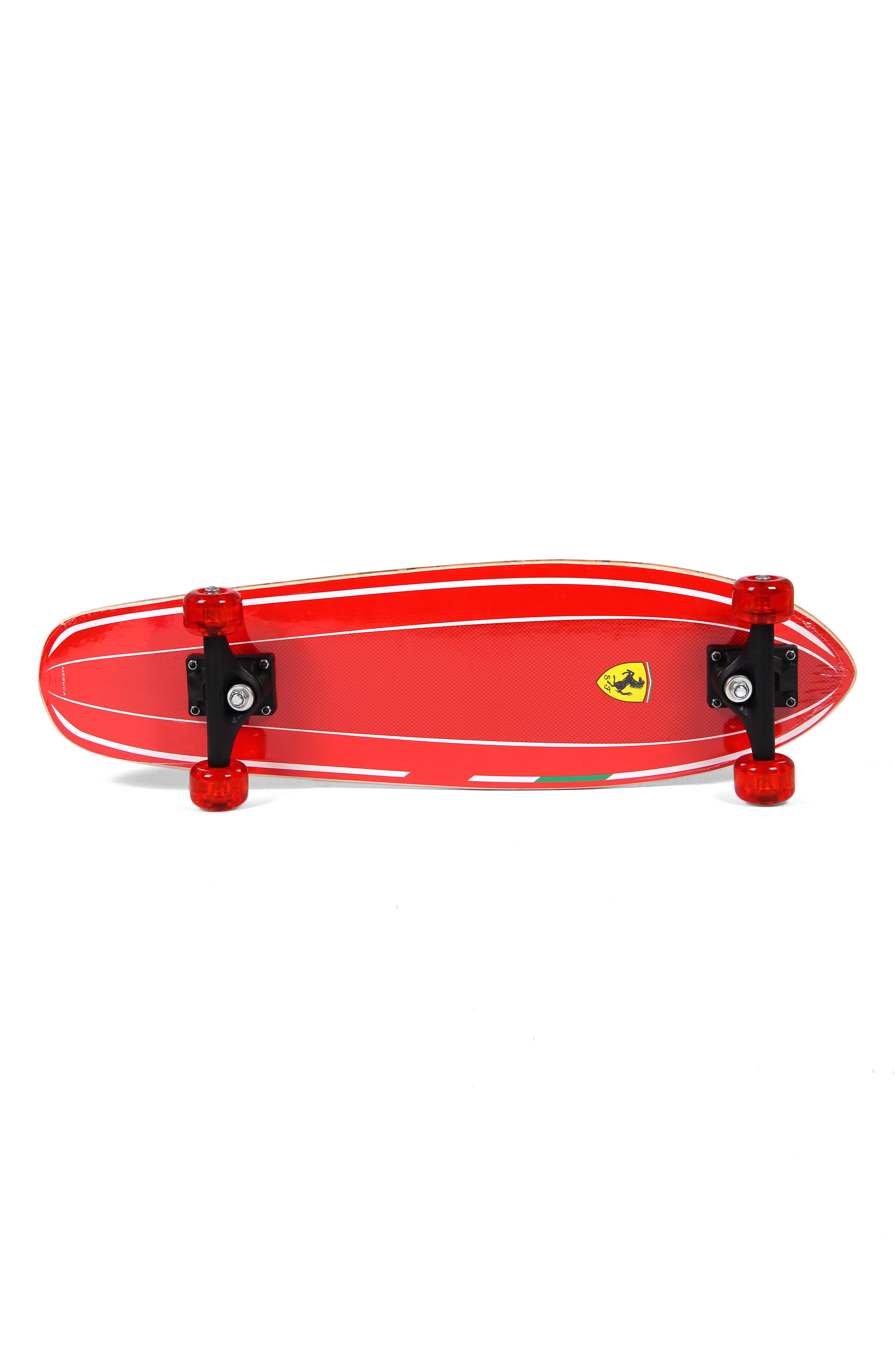 FERRARI,                             Skateboard,                             Alternate thumbnail 2, color,                             FERRARI RED