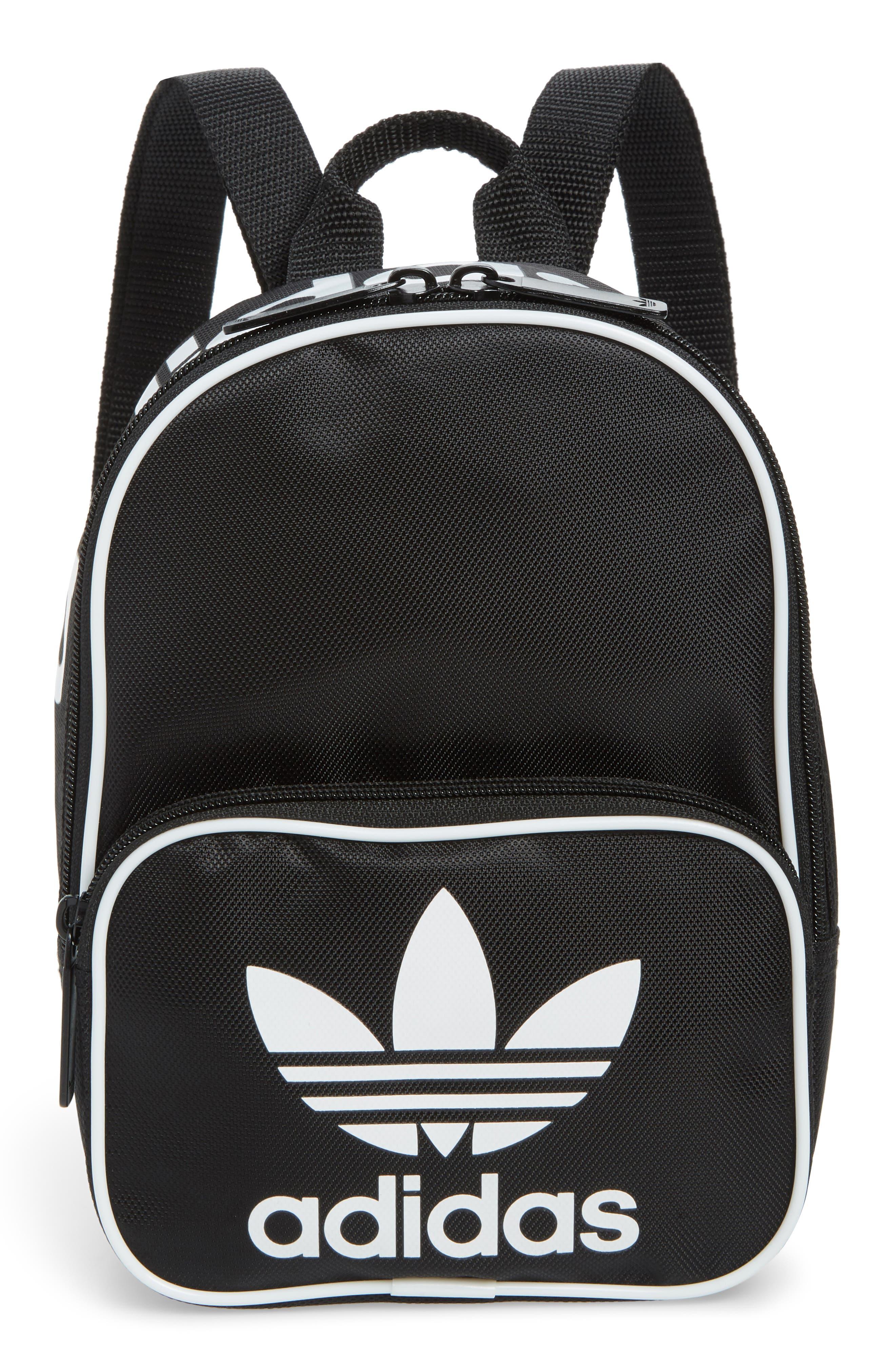 Originals Santiago Mini Backpack,                             Main thumbnail 1, color,                             BLACK
