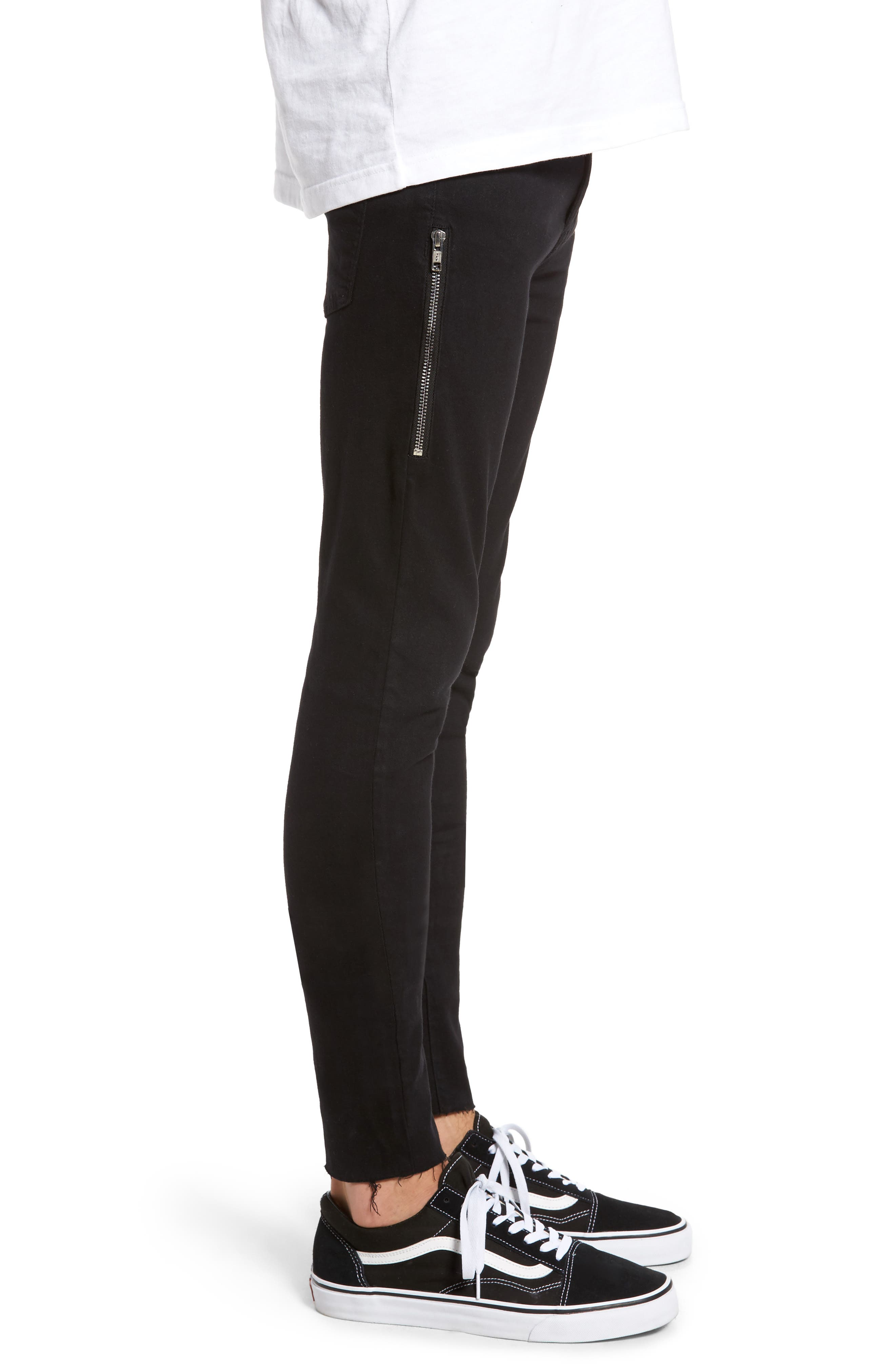 Leroy Skinny Fit Jeans,                             Alternate thumbnail 3, color,                             001