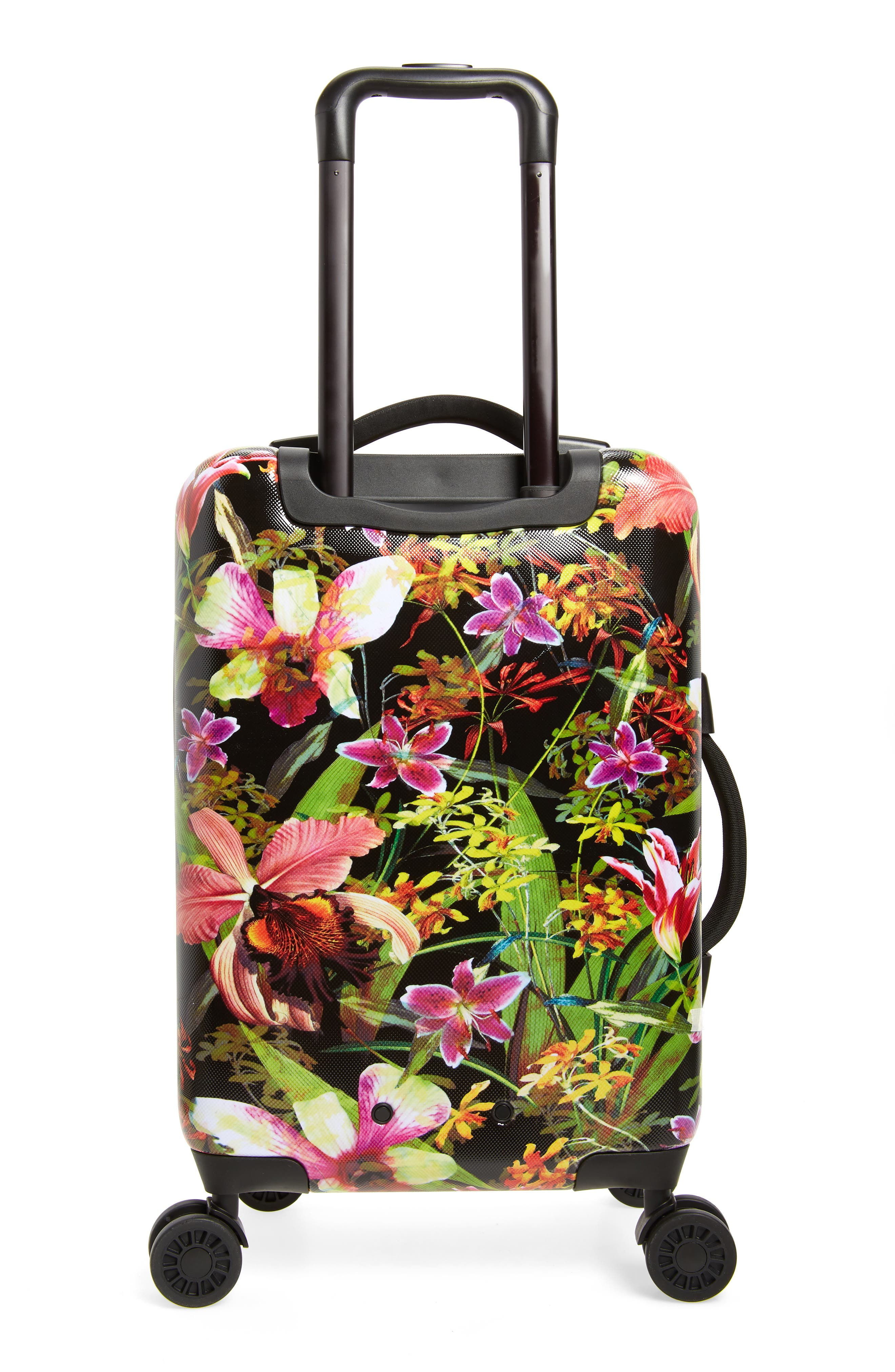 Small Trade 23-Inch Rolling Suitcase,                             Alternate thumbnail 4, color,                             JUNGLE HOFFMAN