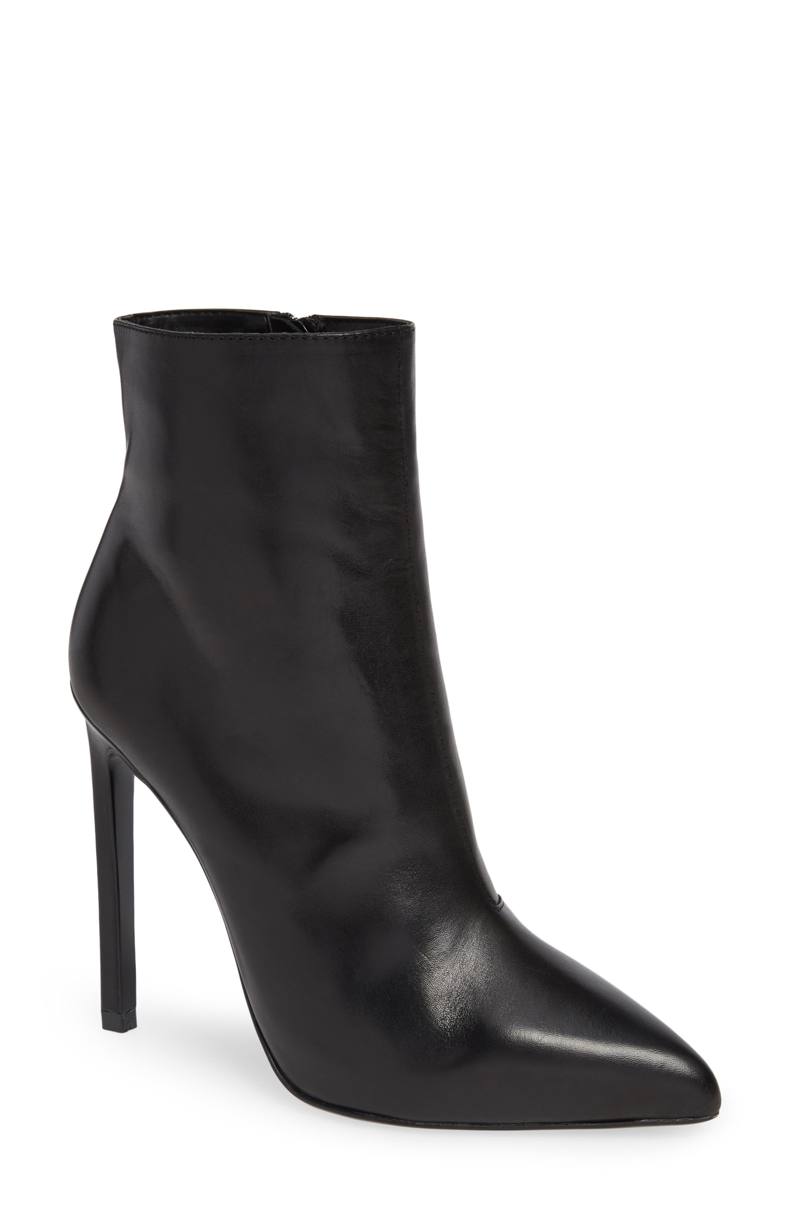 TONY BIANCO Freddie Bootie in Black Como Leather
