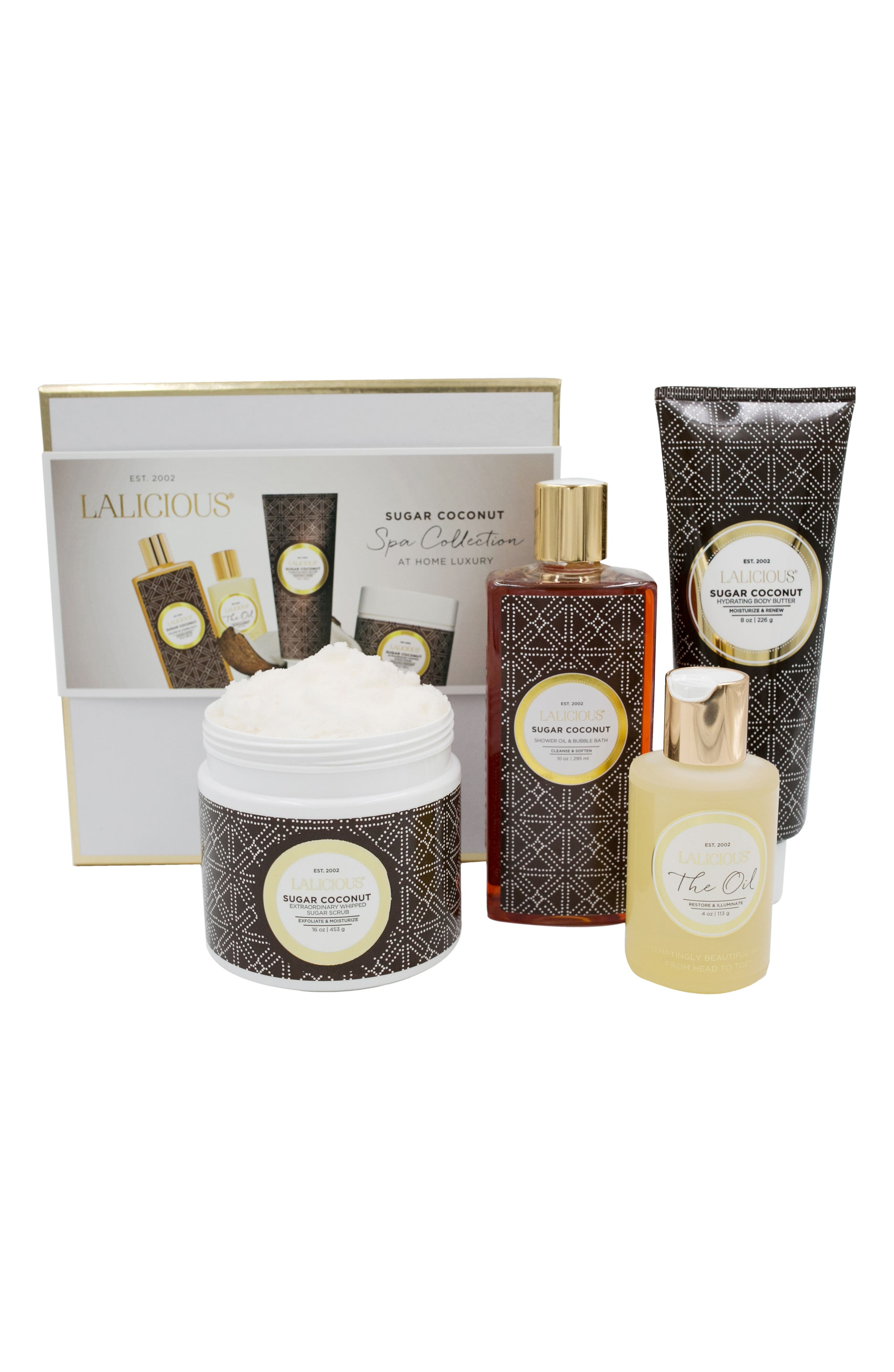Sugar Coconut At Home Spa Collection,                             Alternate thumbnail 3, color,
