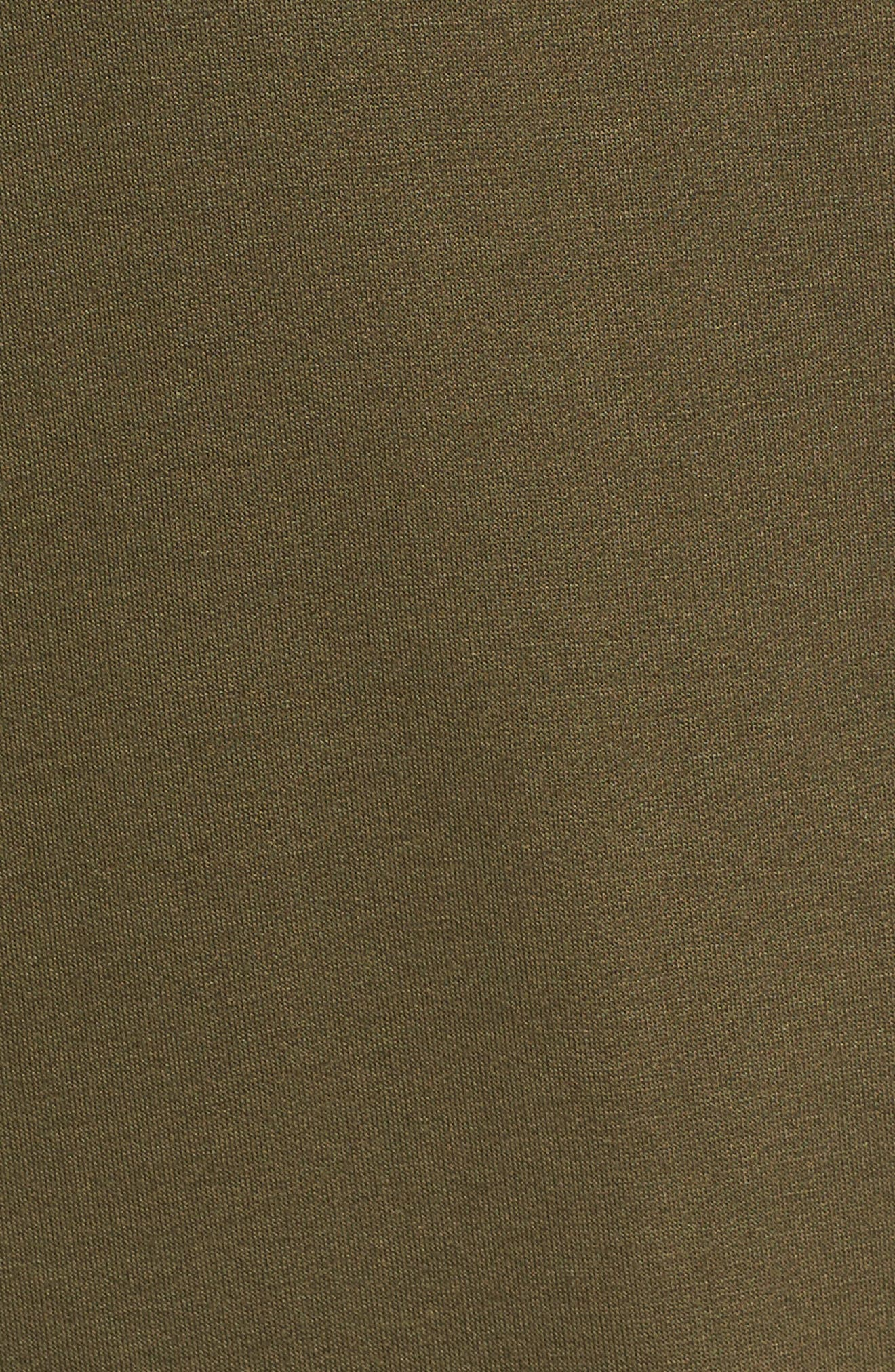 High/Low Cold Shoulder Sweatshirt,                             Alternate thumbnail 19, color,