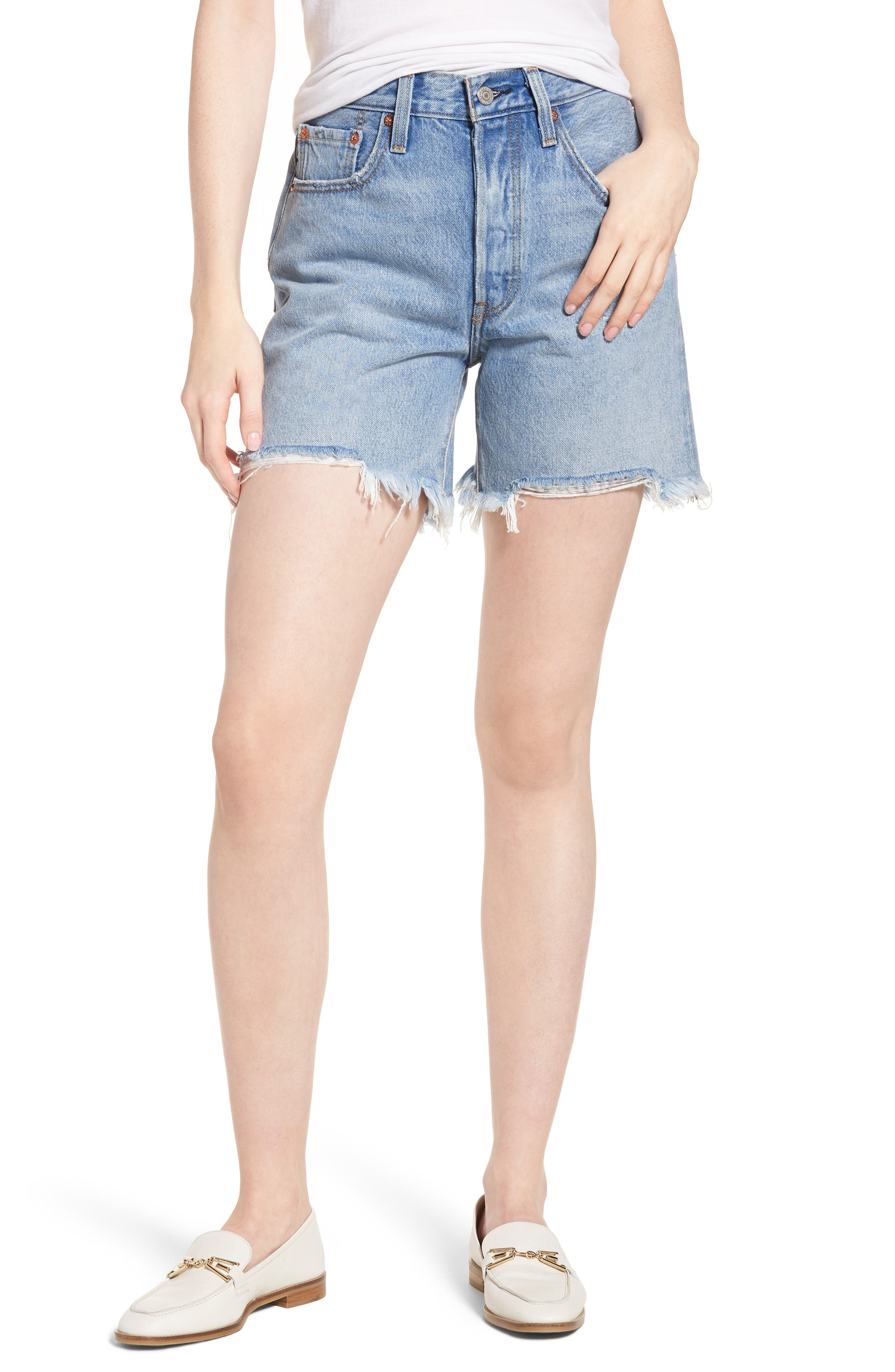 Indie Shredded Shorts,                         Main,                         color, 420